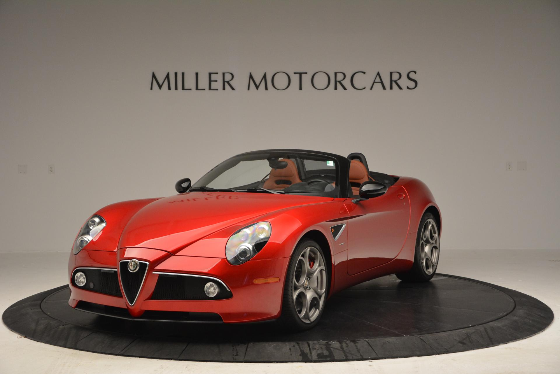 Used 2009 Alfa Romeo 8C COMPETIZIONE Spider For Sale In Greenwich, CT. Alfa Romeo of Greenwich, 6958 1_main