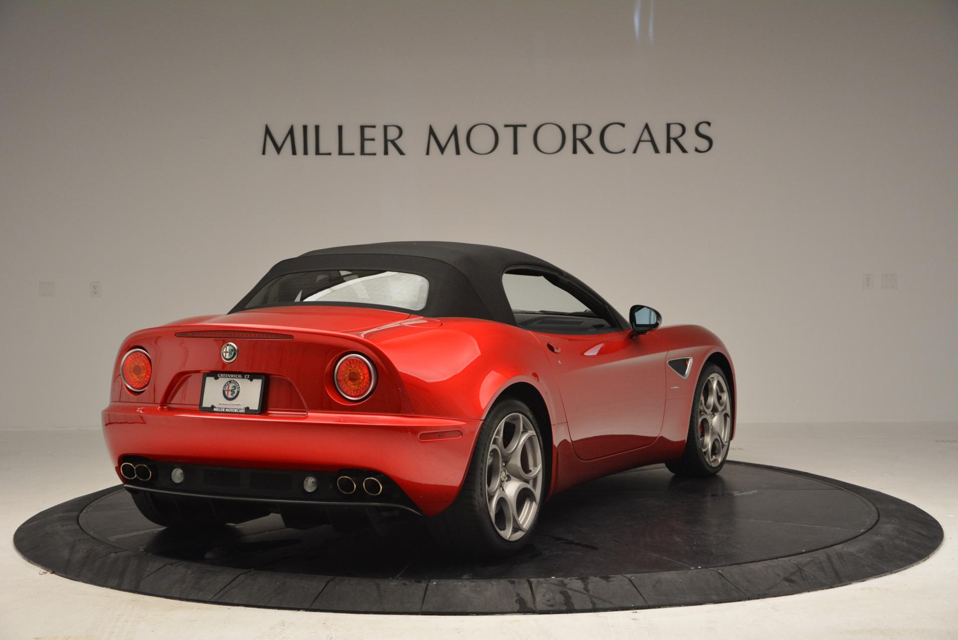 Used 2009 Alfa Romeo 8C COMPETIZIONE Spider For Sale In Greenwich, CT. Alfa Romeo of Greenwich, 6958 1_p19