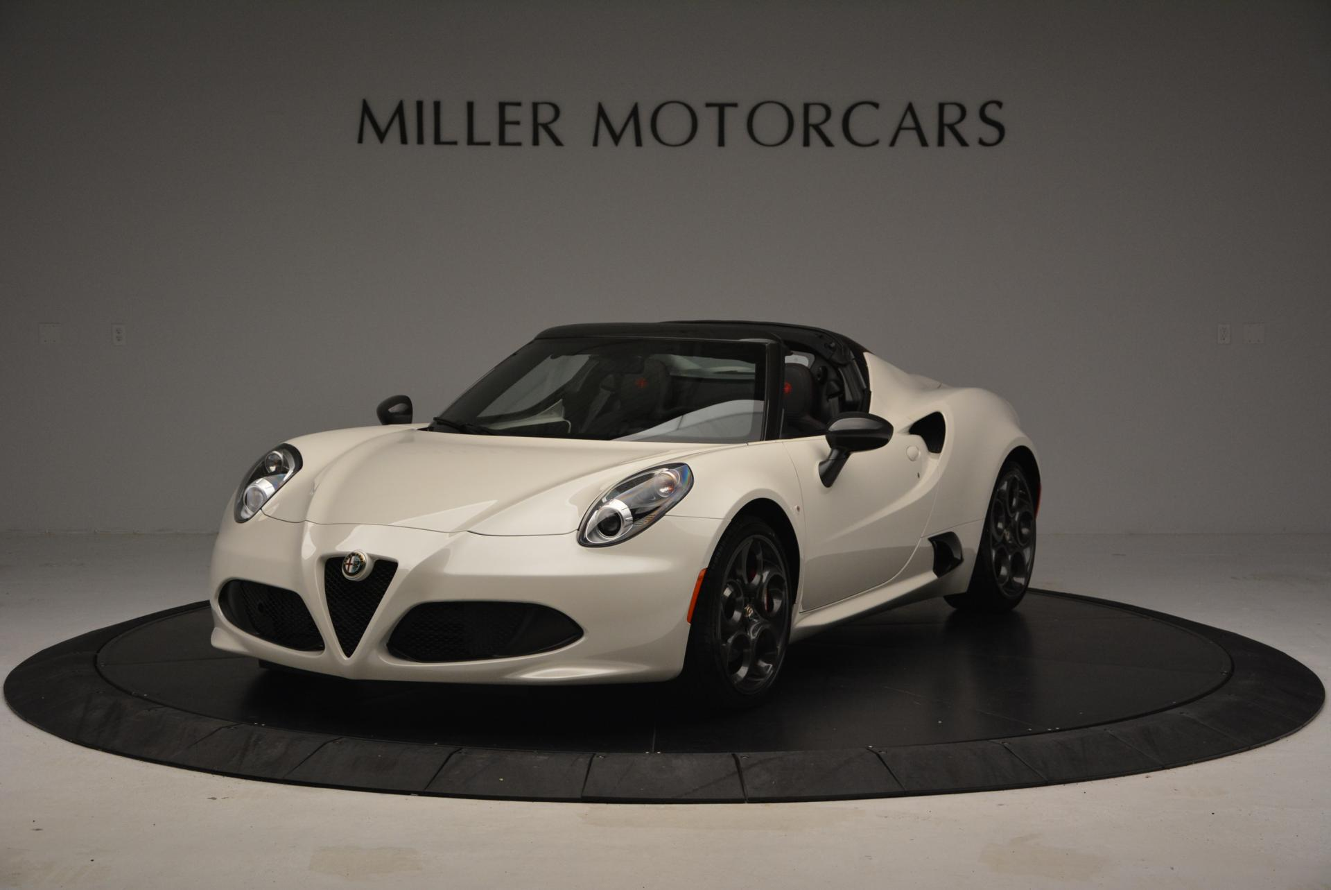New 2015 Alfa Romeo 4C Spider  For Sale In Greenwich, CT. Alfa Romeo of Greenwich, L030 10_main