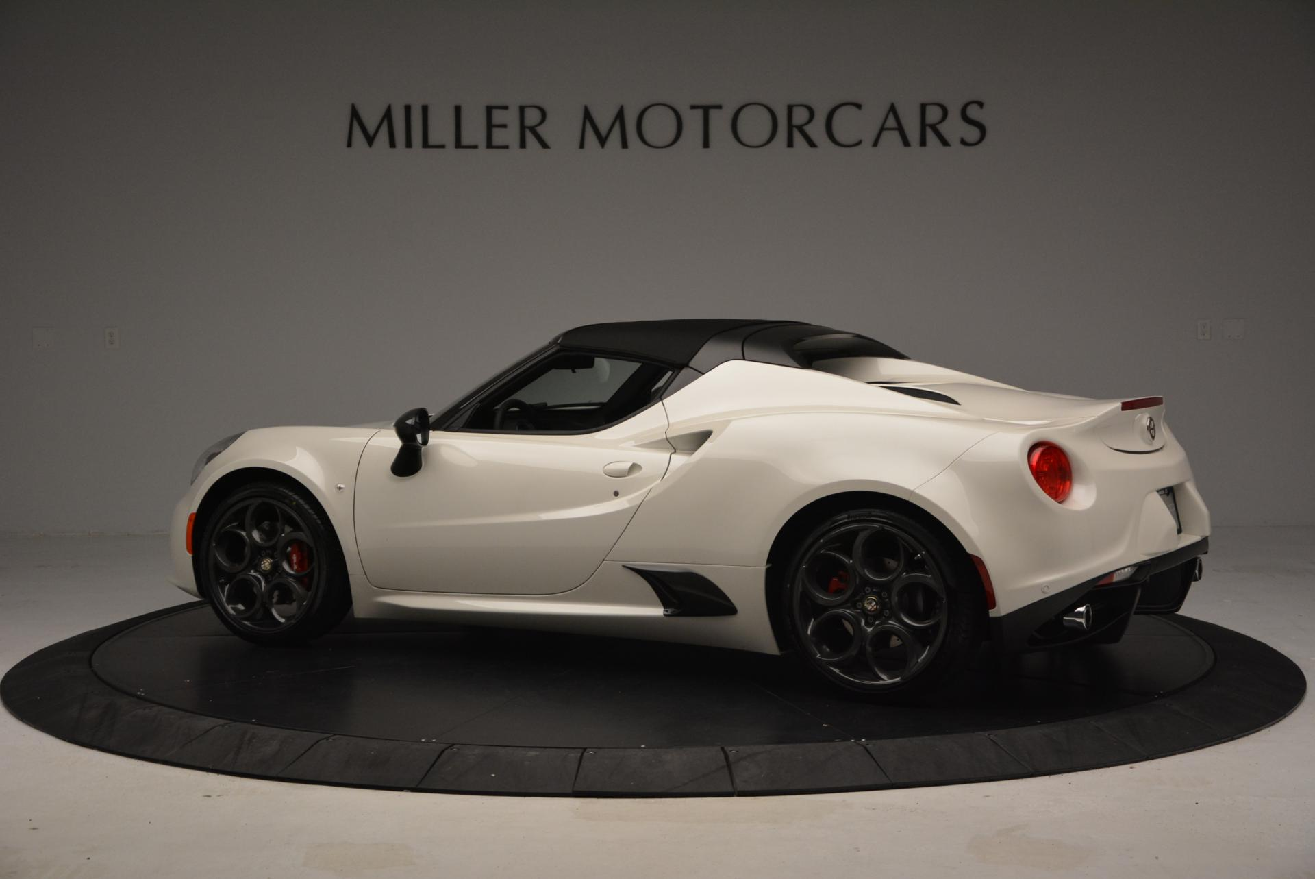 New 2015 Alfa Romeo 4C Spider  For Sale In Greenwich, CT. Alfa Romeo of Greenwich, L030 10_p16