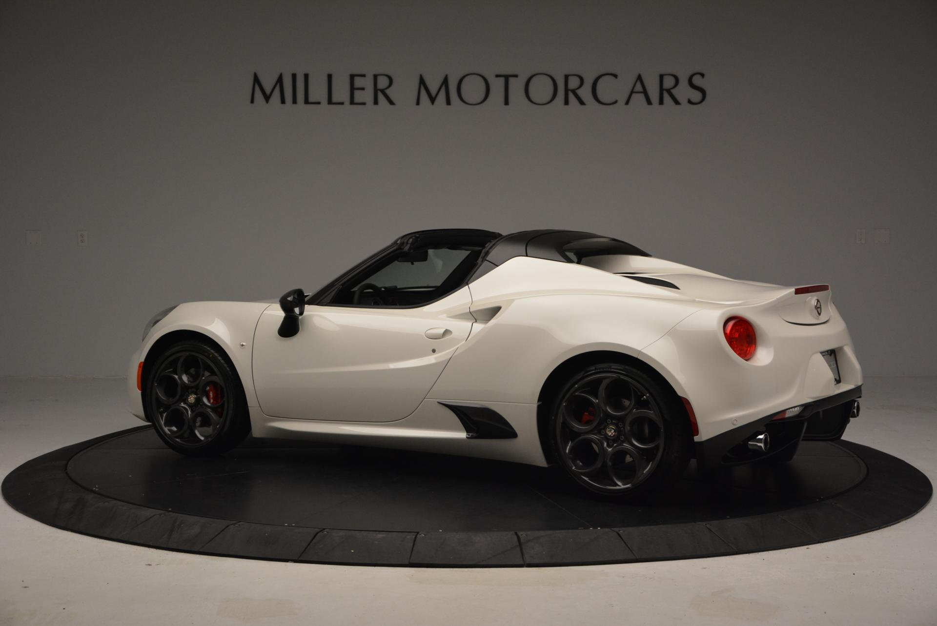 New 2015 Alfa Romeo 4C Spider  For Sale In Greenwich, CT. Alfa Romeo of Greenwich, L030 10_p4