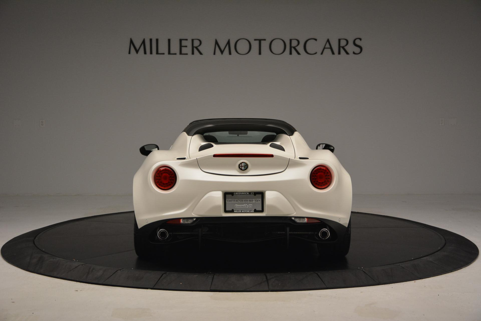 New 2015 Alfa Romeo 4C Spider  For Sale In Greenwich, CT. Alfa Romeo of Greenwich, L030 10_p6