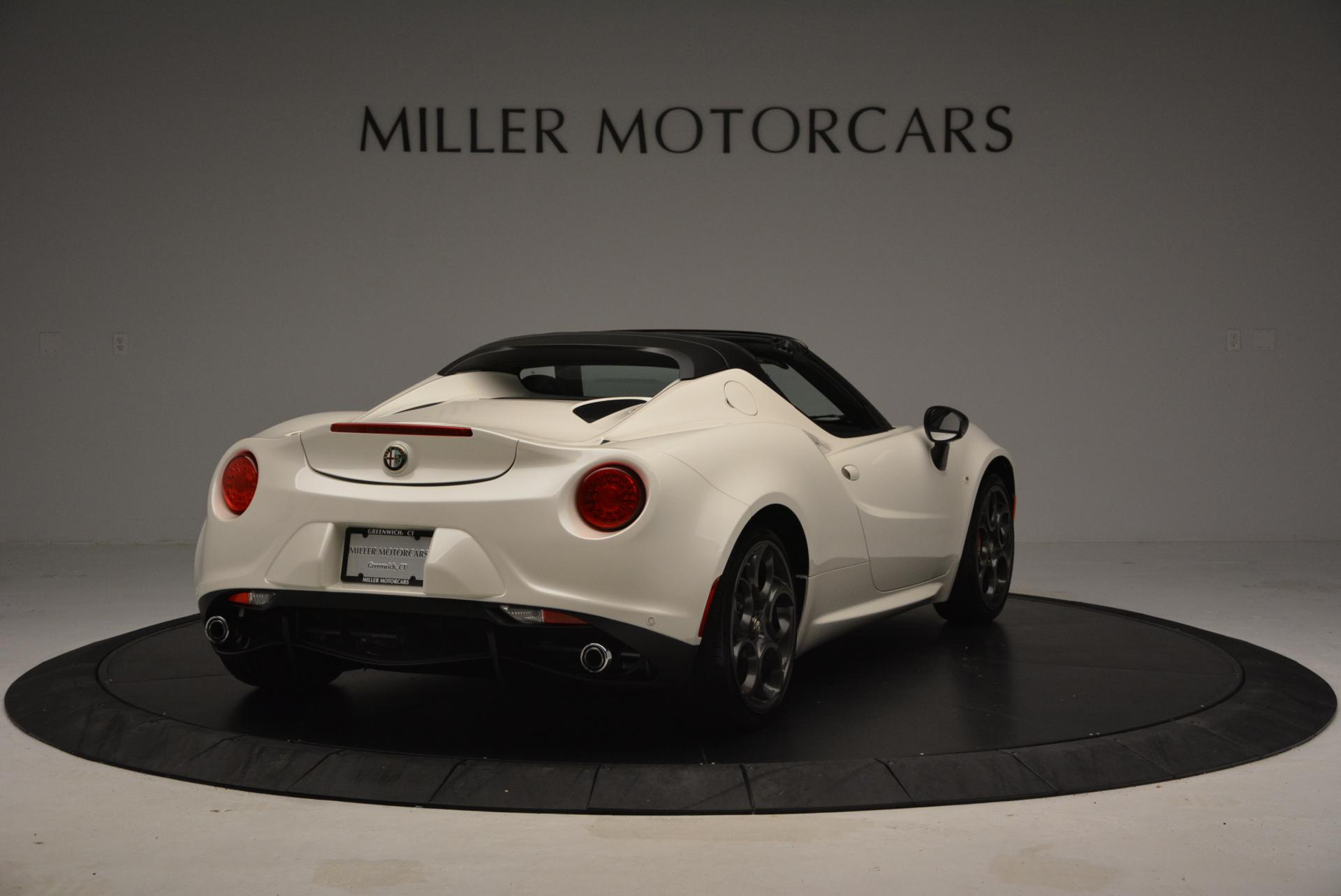 New 2015 Alfa Romeo 4C Spider  For Sale In Greenwich, CT. Alfa Romeo of Greenwich, L030 10_p7