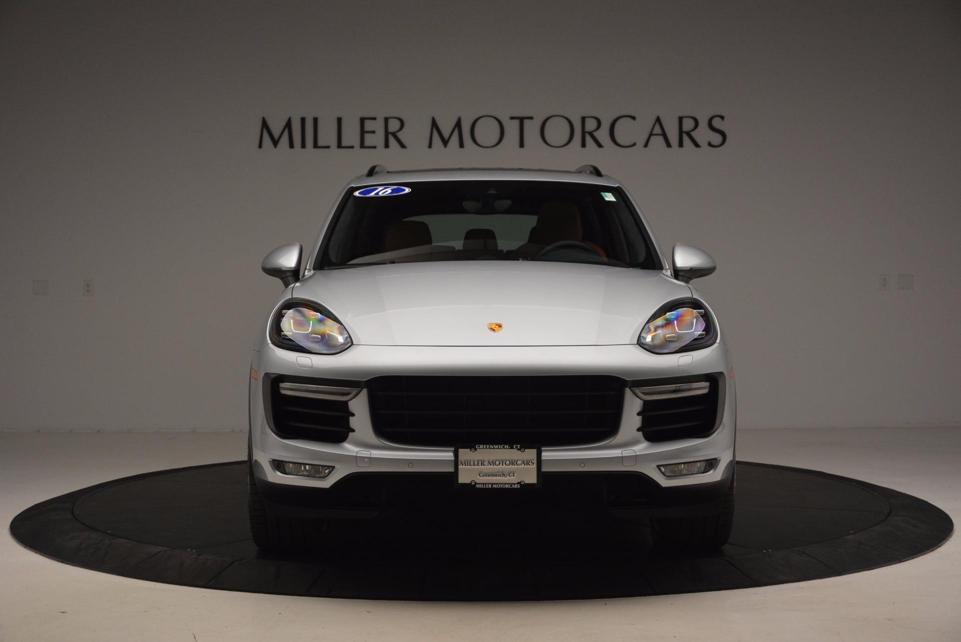 Used 2016 Porsche Cayenne Turbo For Sale In Greenwich, CT. Alfa Romeo of Greenwich, 7165 1000_p12