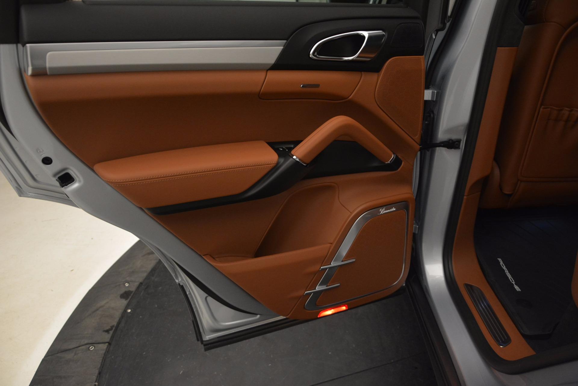 Used 2016 Porsche Cayenne Turbo For Sale In Greenwich, CT. Alfa Romeo of Greenwich, 7165 1000_p24