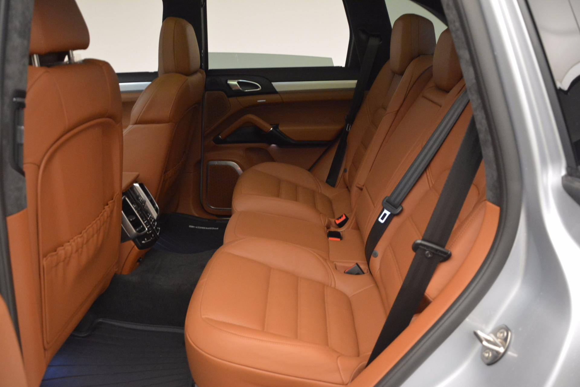 Used 2016 Porsche Cayenne Turbo For Sale In Greenwich, CT. Alfa Romeo of Greenwich, 7165 1000_p26