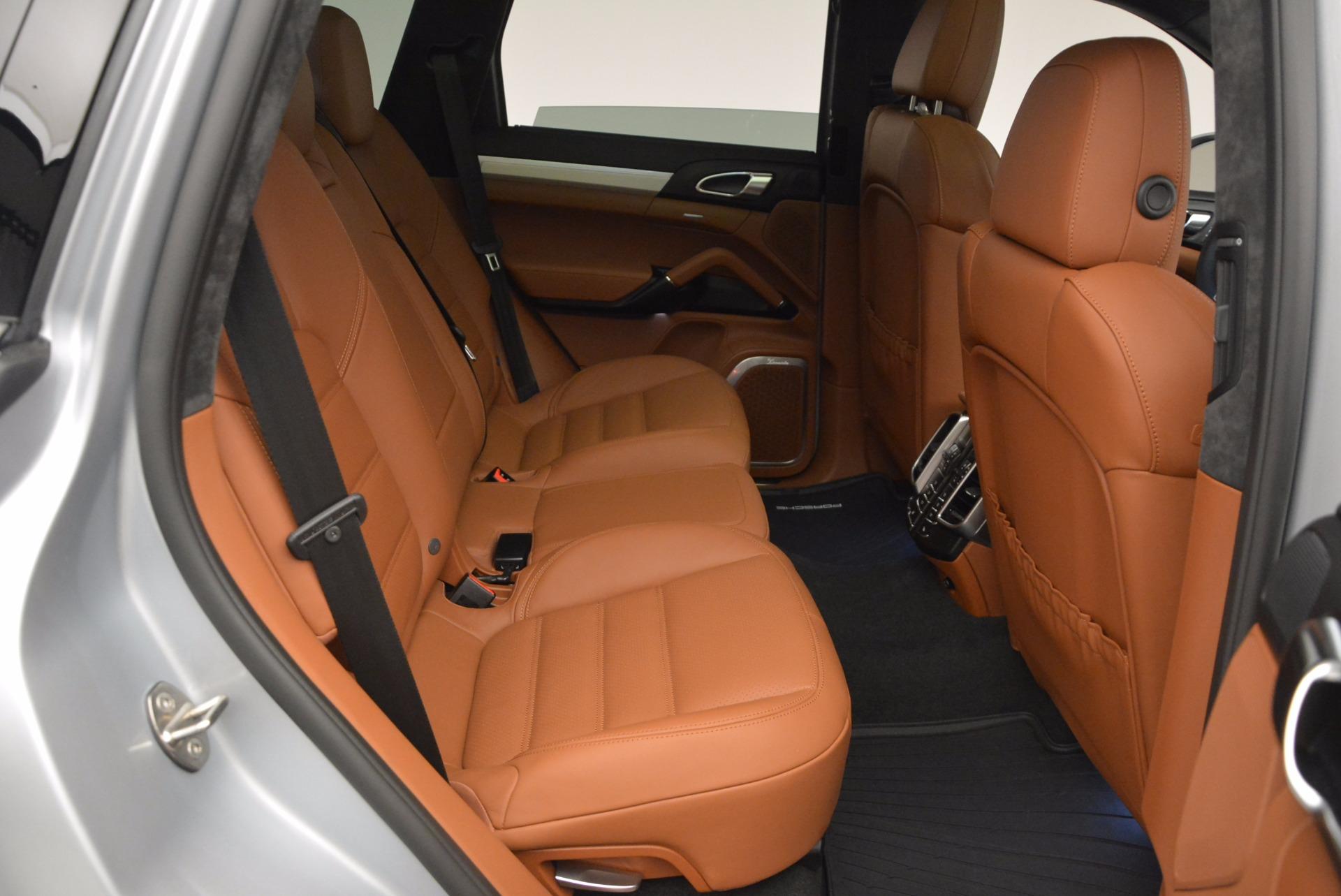 Used 2016 Porsche Cayenne Turbo For Sale In Greenwich, CT. Alfa Romeo of Greenwich, 7165 1000_p36
