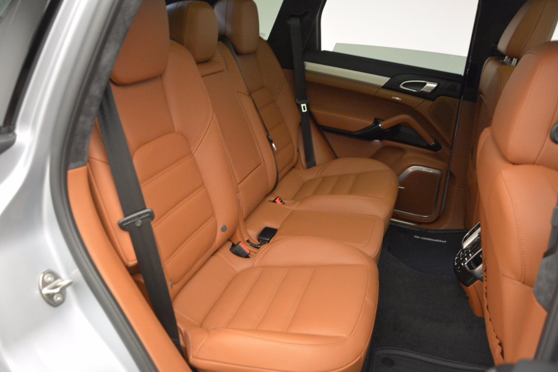 Used 2016 Porsche Cayenne Turbo For Sale In Greenwich, CT. Alfa Romeo of Greenwich, 7165 1000_p38