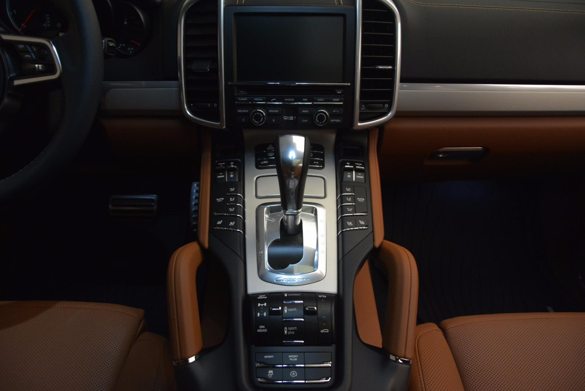Used 2016 Porsche Cayenne Turbo For Sale In Greenwich, CT. Alfa Romeo of Greenwich, 7165 1000_p41
