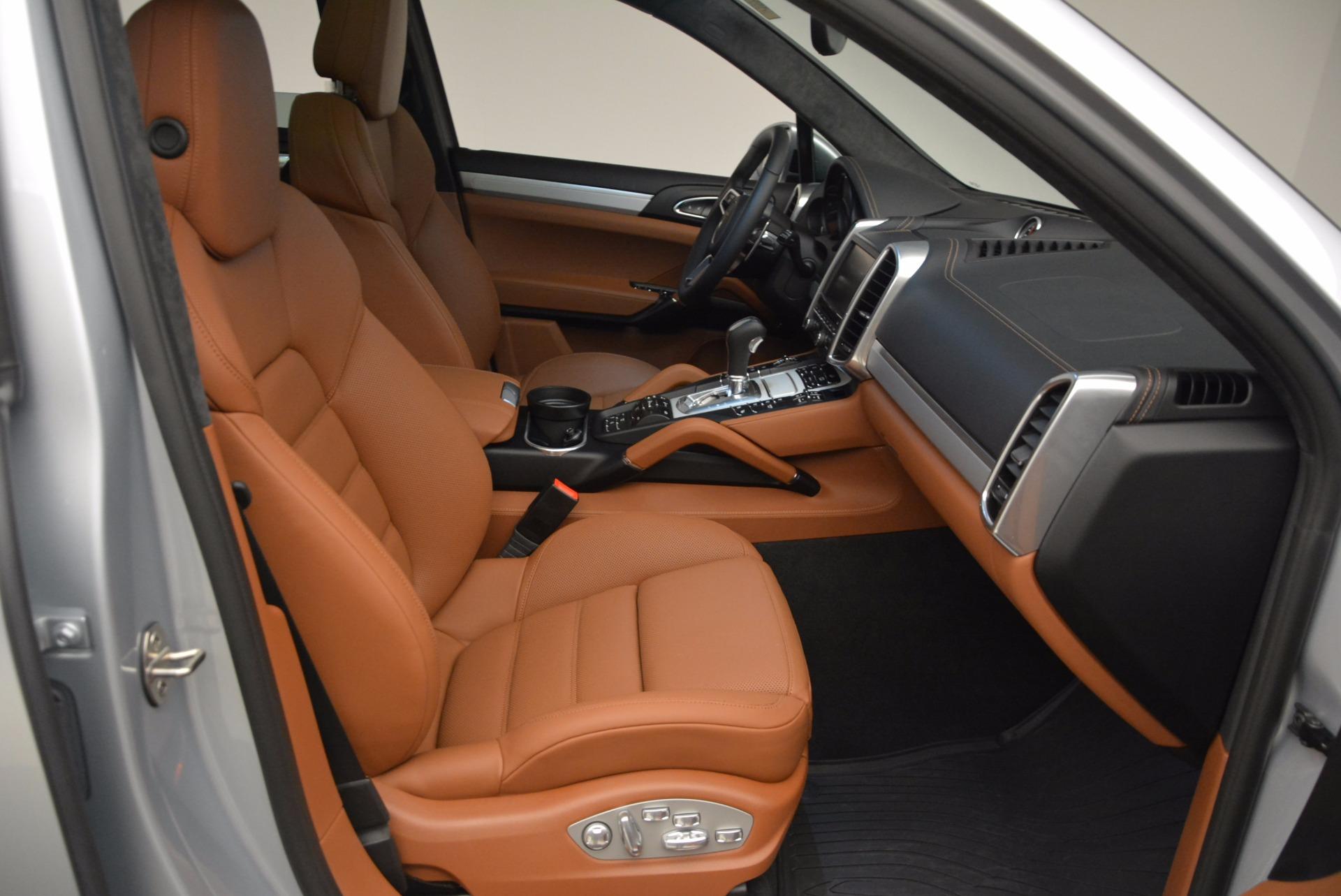 Used 2016 Porsche Cayenne Turbo For Sale In Greenwich, CT. Alfa Romeo of Greenwich, 7165 1000_p43