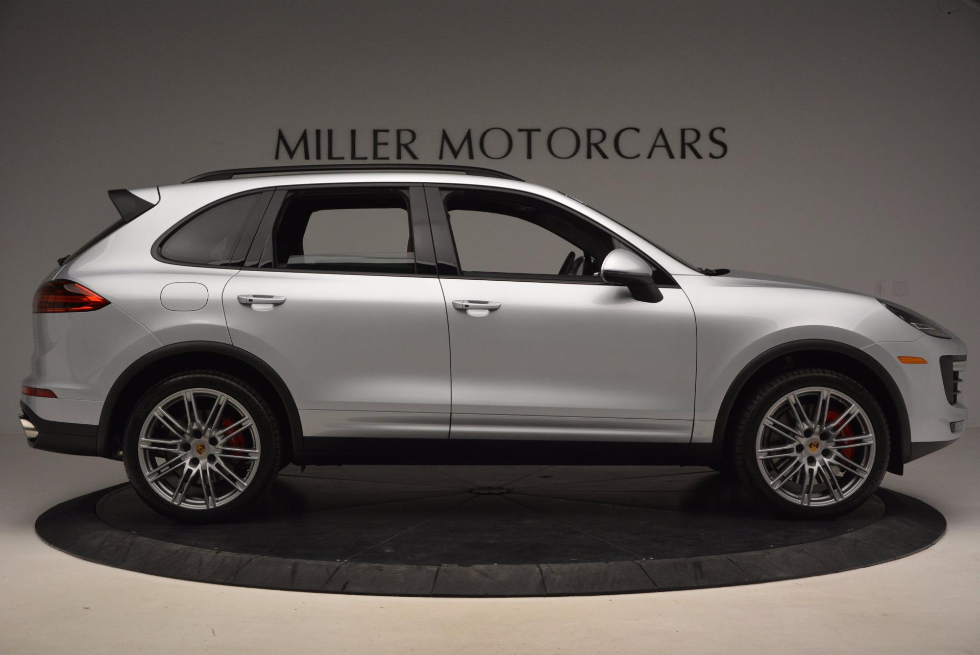Used 2016 Porsche Cayenne Turbo For Sale In Greenwich, CT. Alfa Romeo of Greenwich, 7165 1000_p9