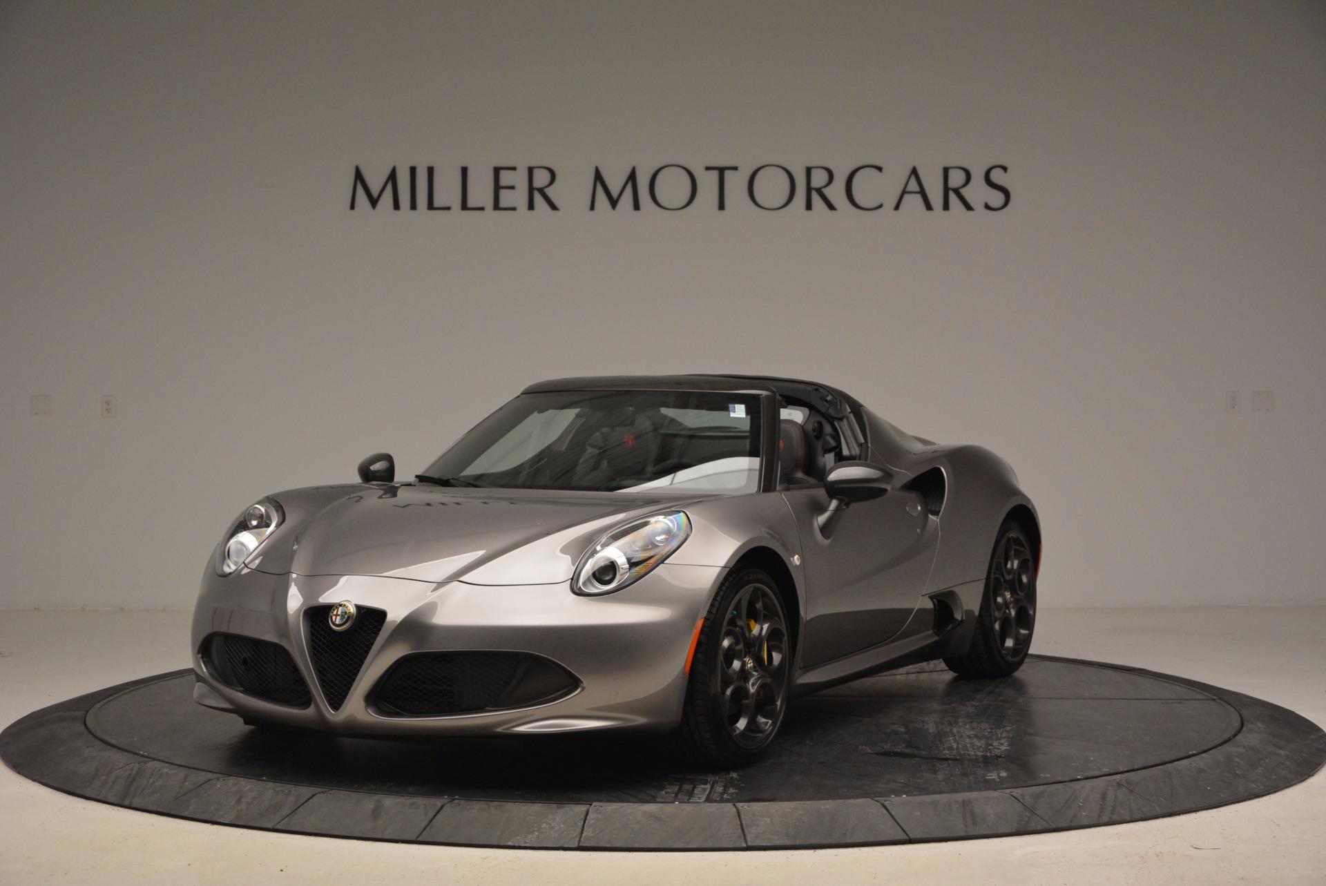 New 2016 Alfa Romeo 4C Spider For Sale In Greenwich, CT. Alfa Romeo of Greenwich, L052 1004_main