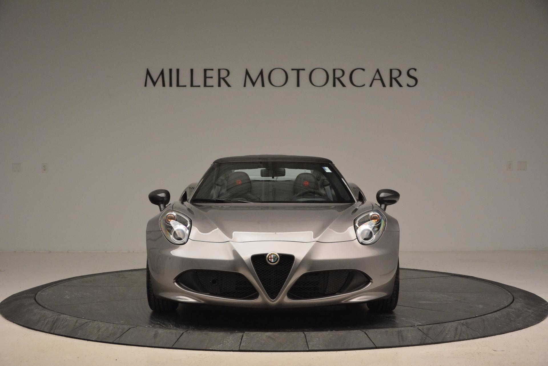 New 2016 Alfa Romeo 4C Spider For Sale In Greenwich, CT. Alfa Romeo of Greenwich, L052 1004_p12