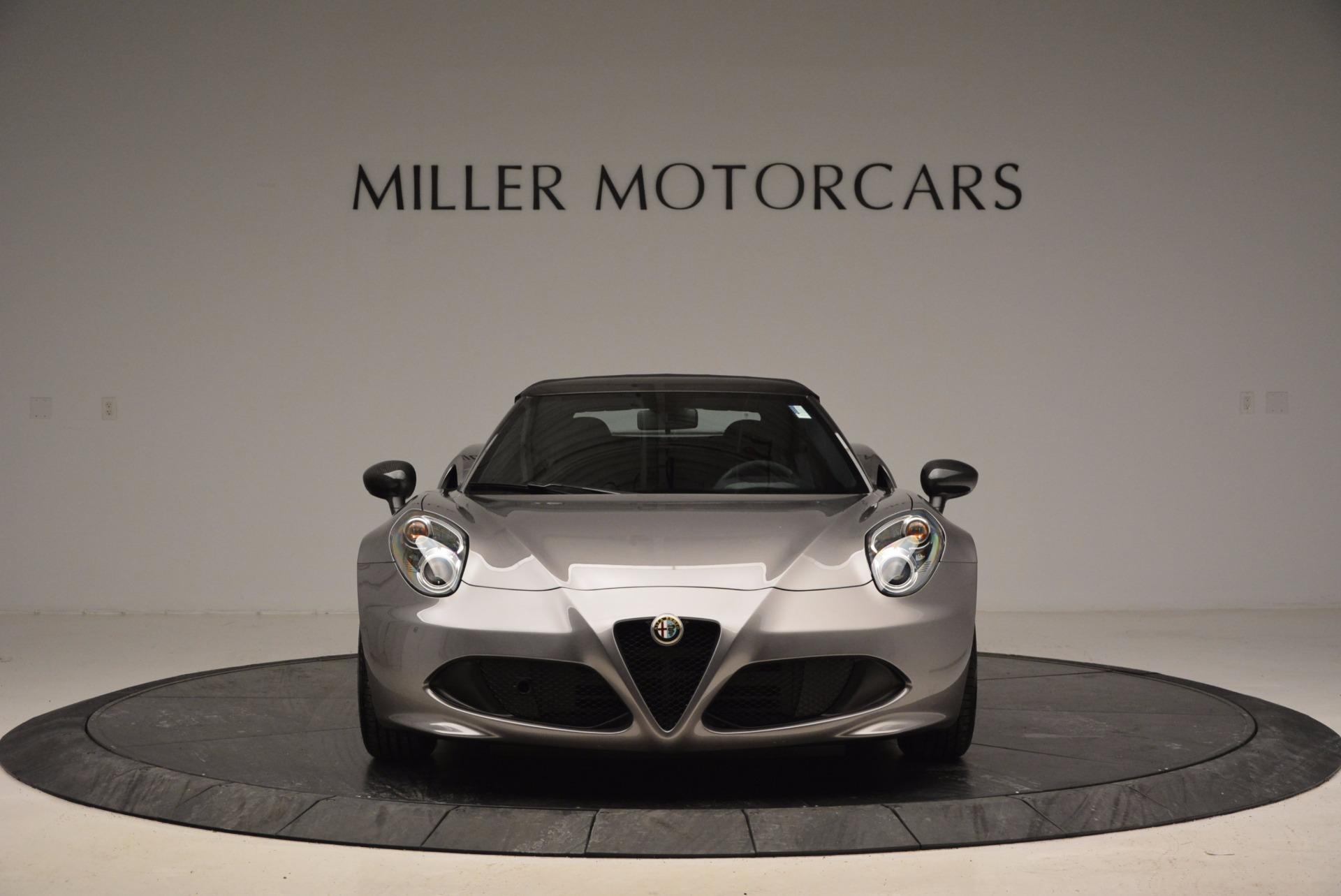 New 2016 Alfa Romeo 4C Spider For Sale In Greenwich, CT. Alfa Romeo of Greenwich, L052 1004_p24