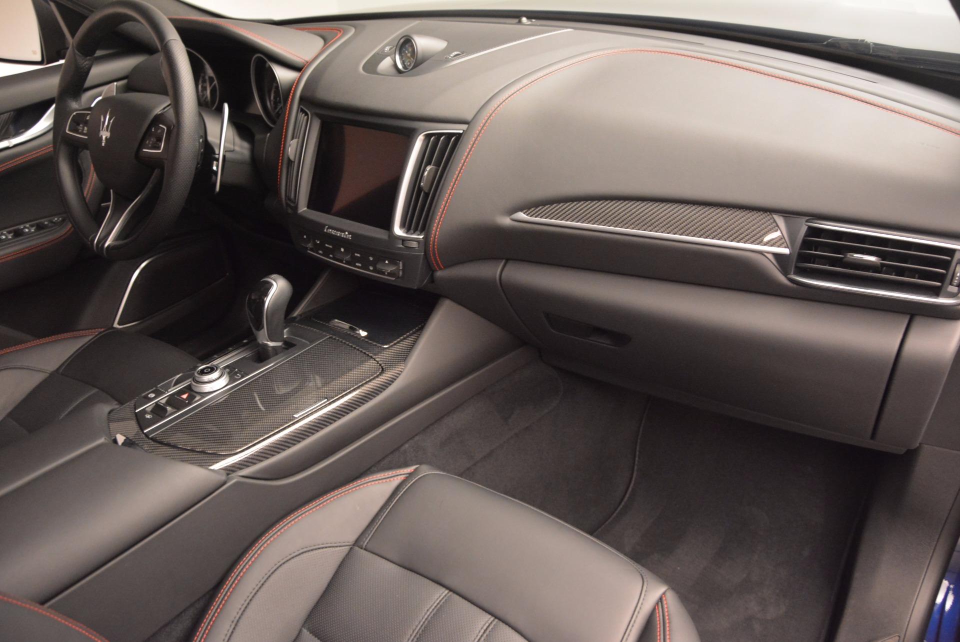 New 2017 Maserati Levante S Q4 For Sale In Greenwich, CT. Alfa Romeo of Greenwich, M1722 1006_p20