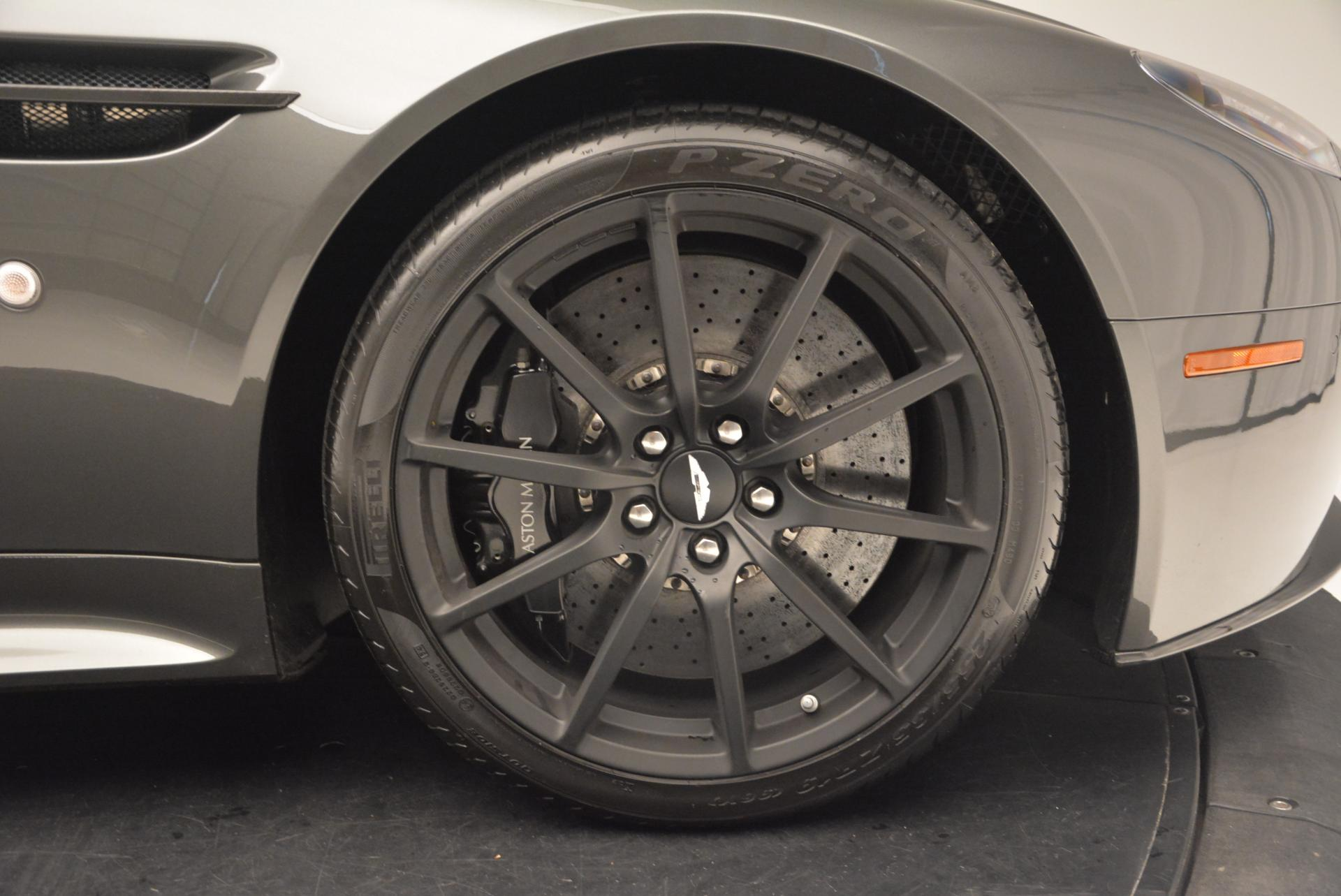 Used 2015 Aston Martin V12 Vantage S  For Sale In Greenwich, CT. Alfa Romeo of Greenwich, 7003 101_p28