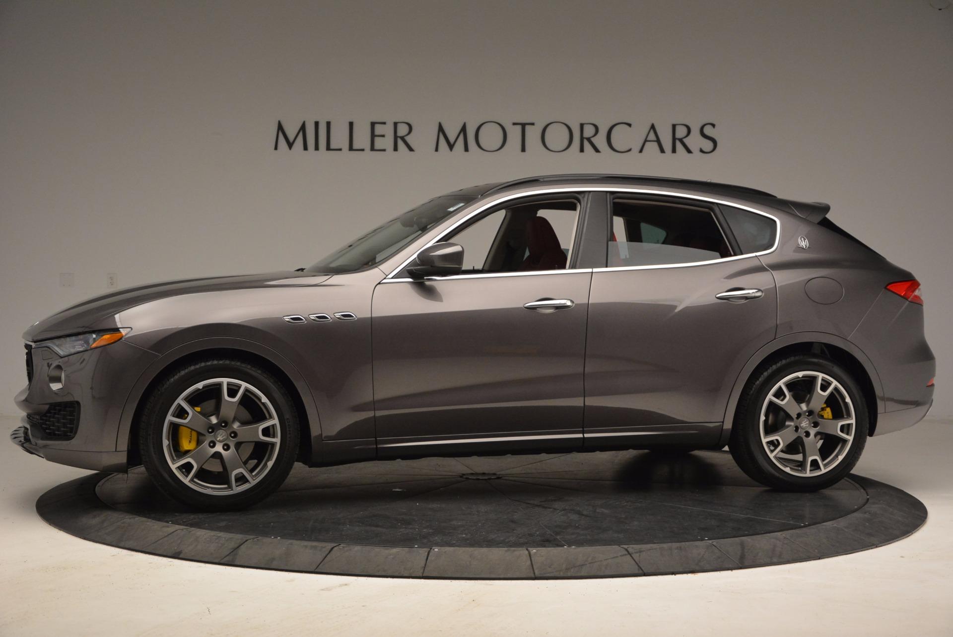 New 2017 Maserati Levante  For Sale In Greenwich, CT. Alfa Romeo of Greenwich, M1814 1017_p3
