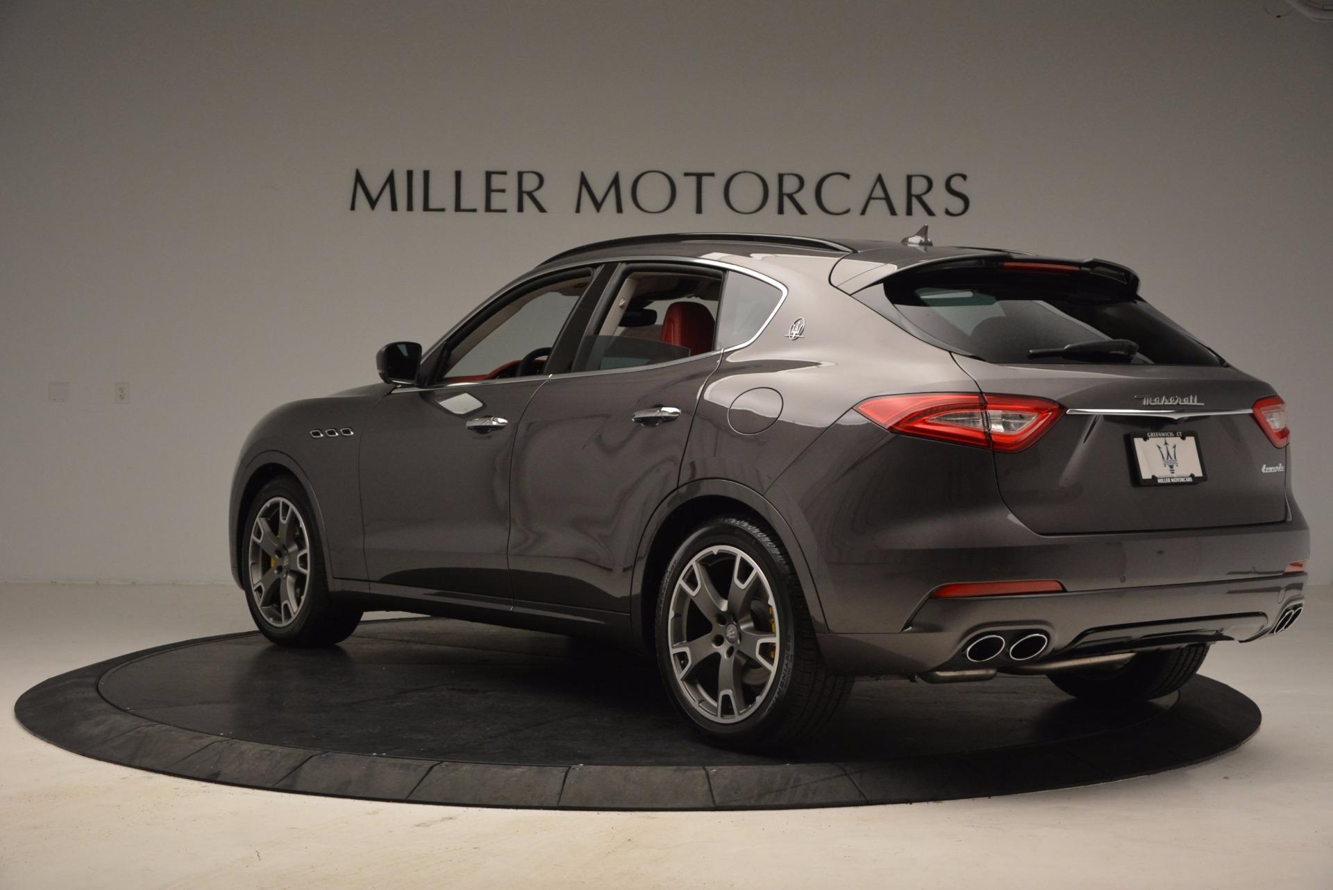 New 2017 Maserati Levante  For Sale In Greenwich, CT. Alfa Romeo of Greenwich, M1814 1017_p4
