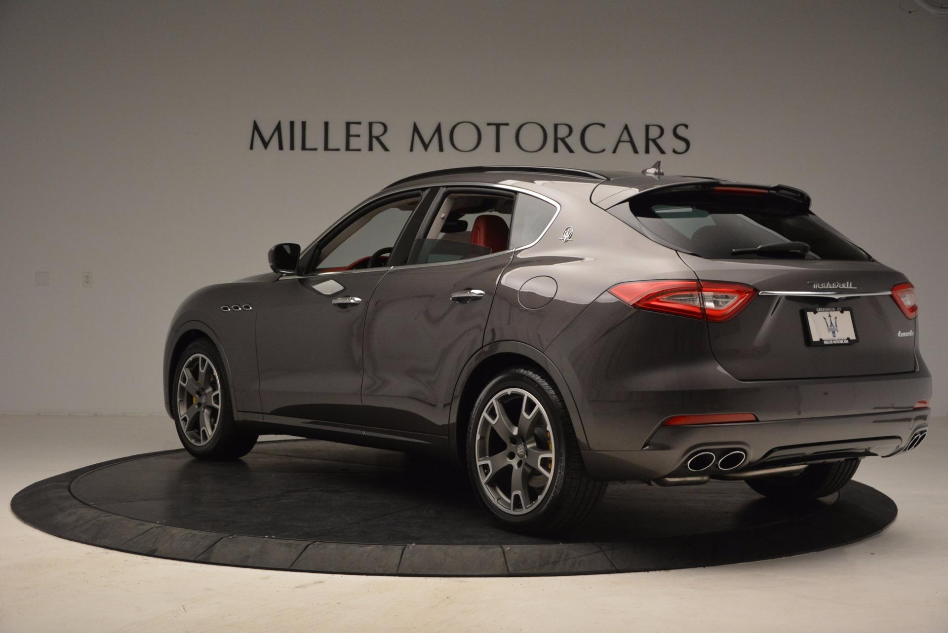 New 2017 Maserati Levante  For Sale In Greenwich, CT. Alfa Romeo of Greenwich, M1814 1017_p5