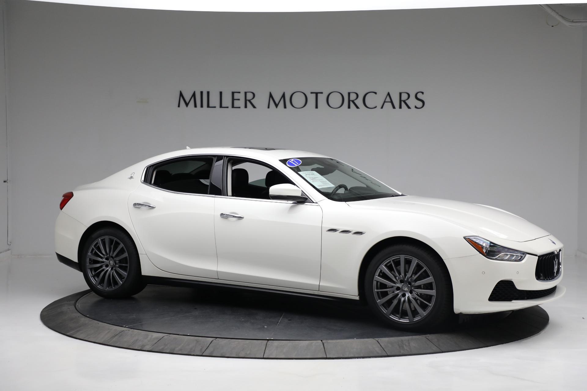 New 2017 Maserati Ghibli S Q4 EX-Loaner For Sale In Greenwich, CT. Alfa Romeo of Greenwich, M1811 1019_p10