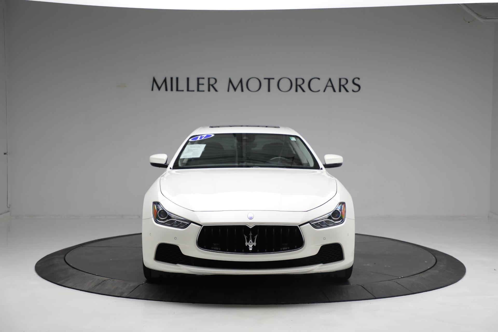 New 2017 Maserati Ghibli S Q4 EX-Loaner For Sale In Greenwich, CT. Alfa Romeo of Greenwich, M1811 1019_p12
