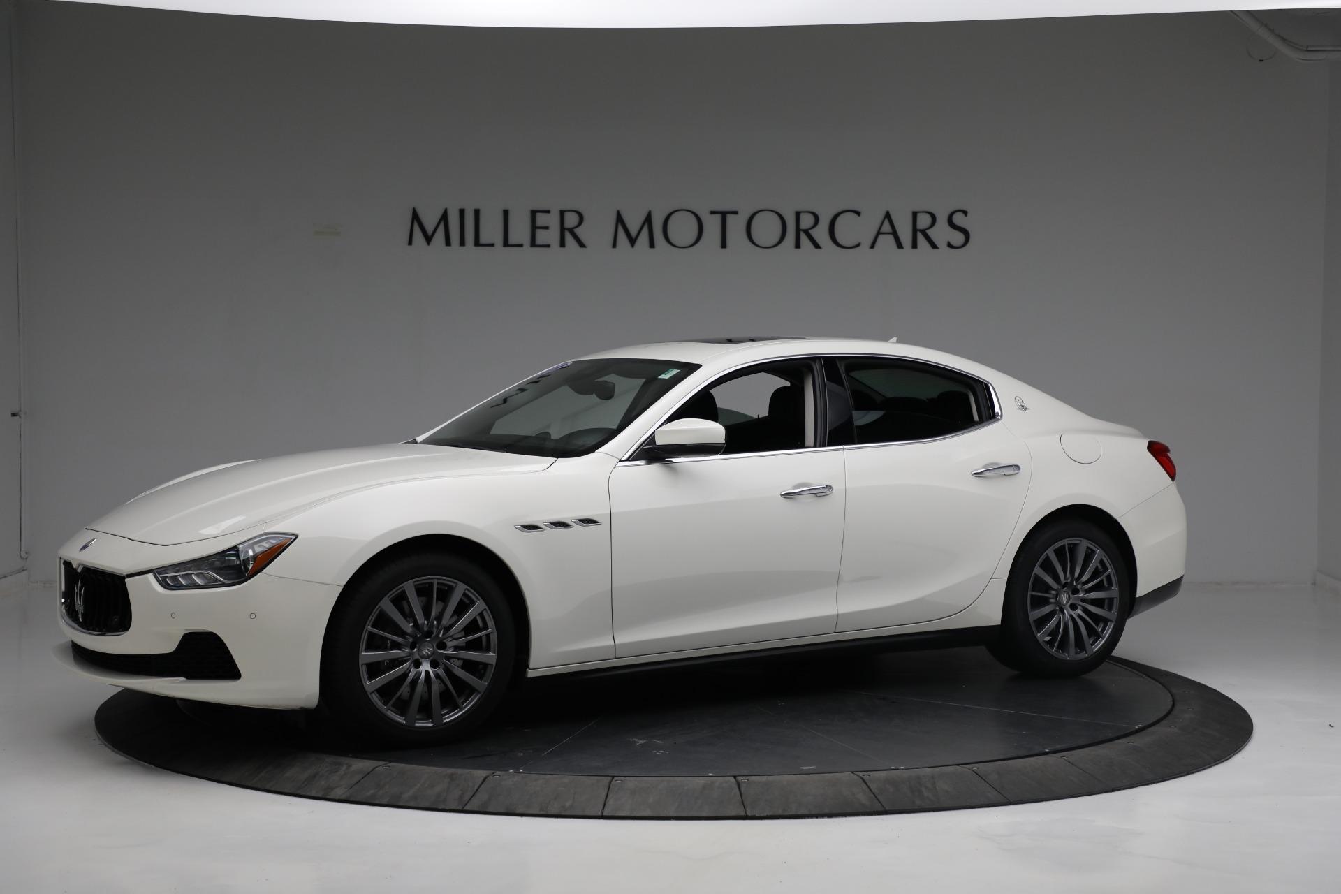 New 2017 Maserati Ghibli S Q4 EX-Loaner For Sale In Greenwich, CT. Alfa Romeo of Greenwich, M1811 1019_p2