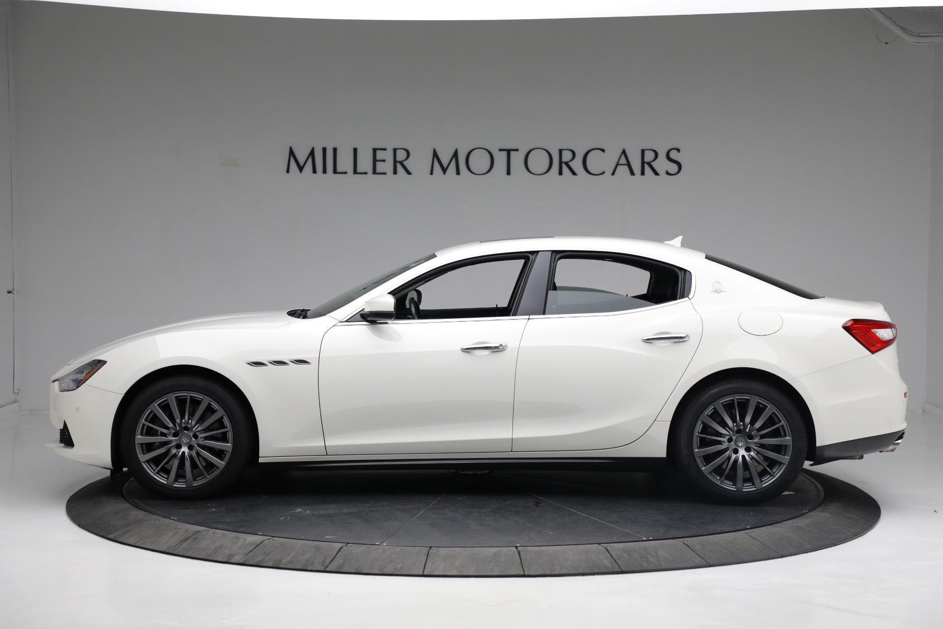 New 2017 Maserati Ghibli S Q4 EX-Loaner For Sale In Greenwich, CT. Alfa Romeo of Greenwich, M1811 1019_p3