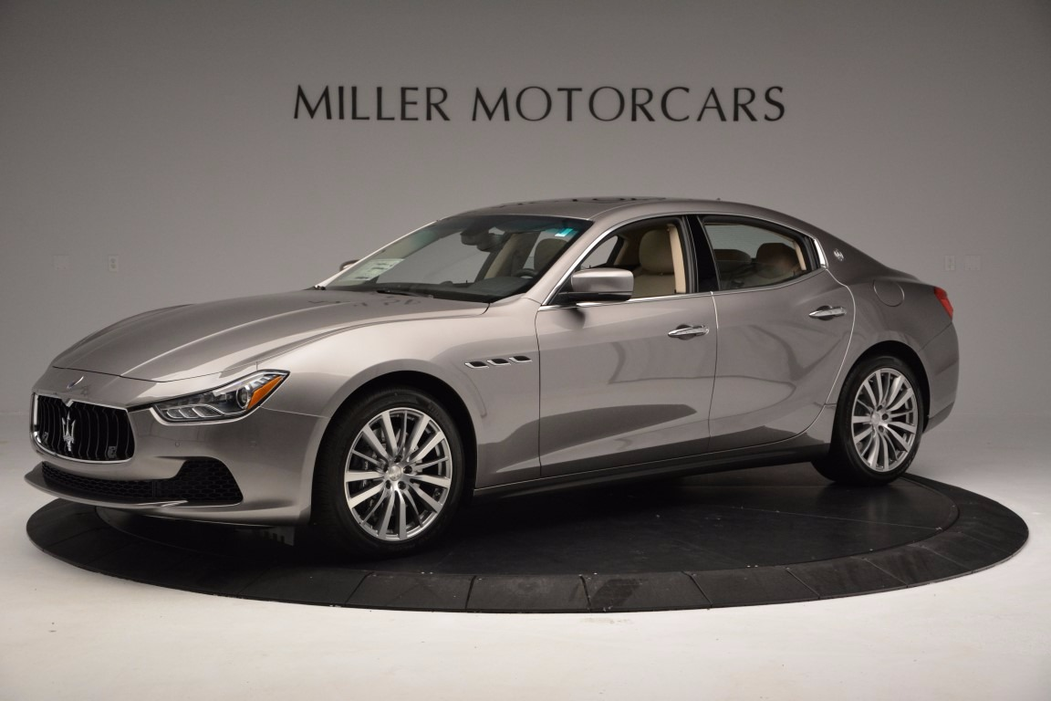 New 2017 Maserati Ghibli S Q4 For Sale In Greenwich, CT. Alfa Romeo of Greenwich, M1820 1028_p2