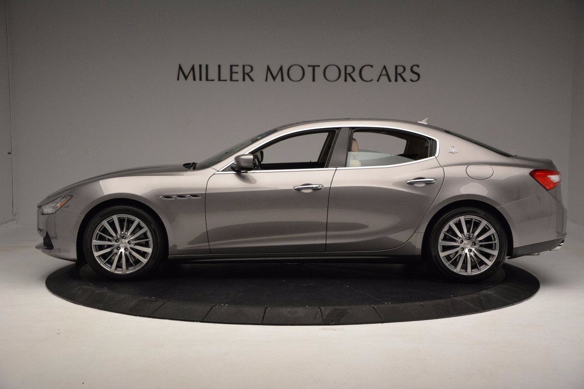 New 2017 Maserati Ghibli S Q4 For Sale In Greenwich, CT. Alfa Romeo of Greenwich, M1820 1028_p3