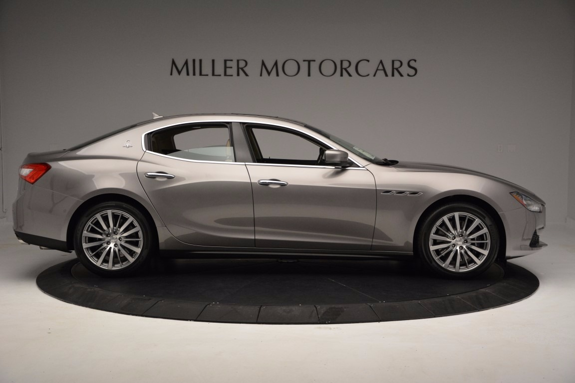 New 2017 Maserati Ghibli S Q4 For Sale In Greenwich, CT. Alfa Romeo of Greenwich, M1820 1028_p9