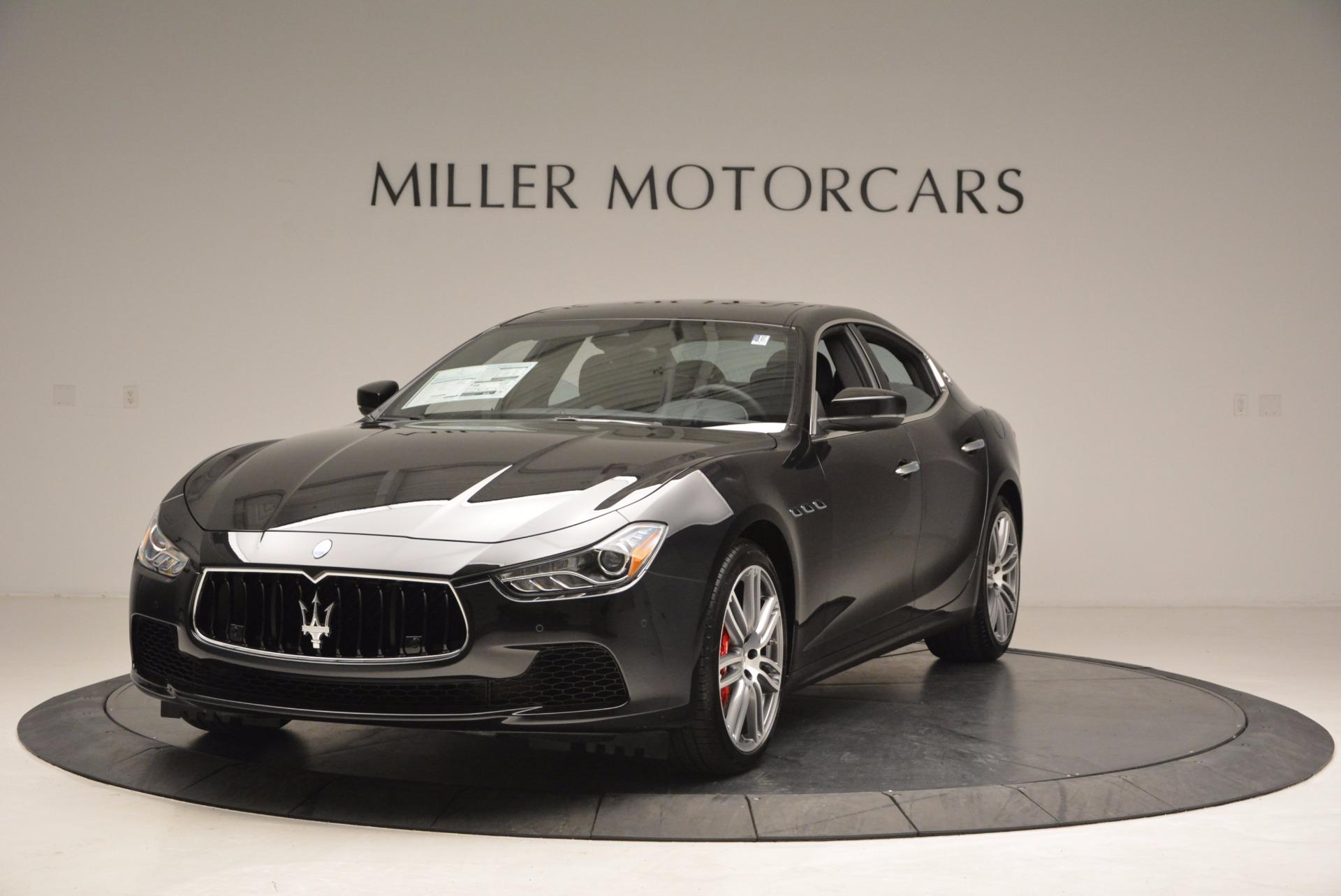 New 2017 Maserati Ghibli SQ4 For Sale In Greenwich, CT. Alfa Romeo of Greenwich, M1816 1033_main