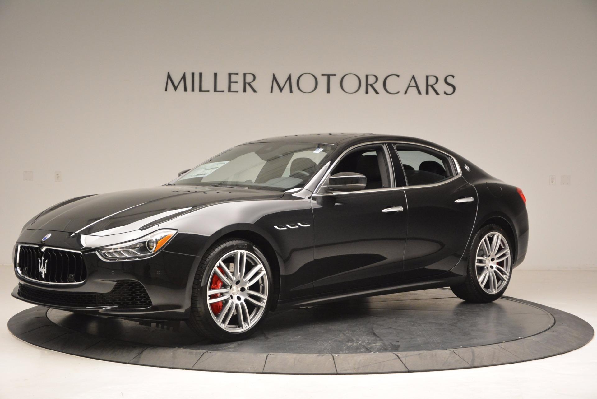 New 2017 Maserati Ghibli SQ4 For Sale In Greenwich, CT. Alfa Romeo of Greenwich, M1816 1033_p2