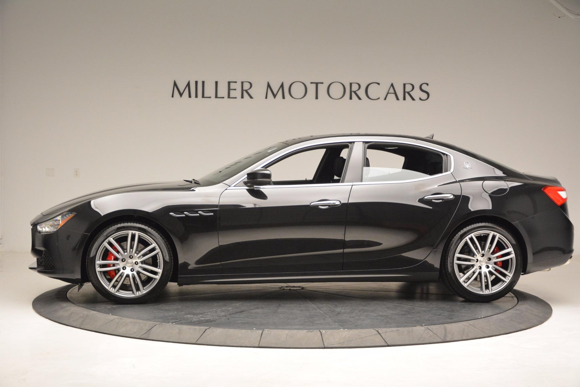 New 2017 Maserati Ghibli SQ4 For Sale In Greenwich, CT. Alfa Romeo of Greenwich, M1816 1033_p3
