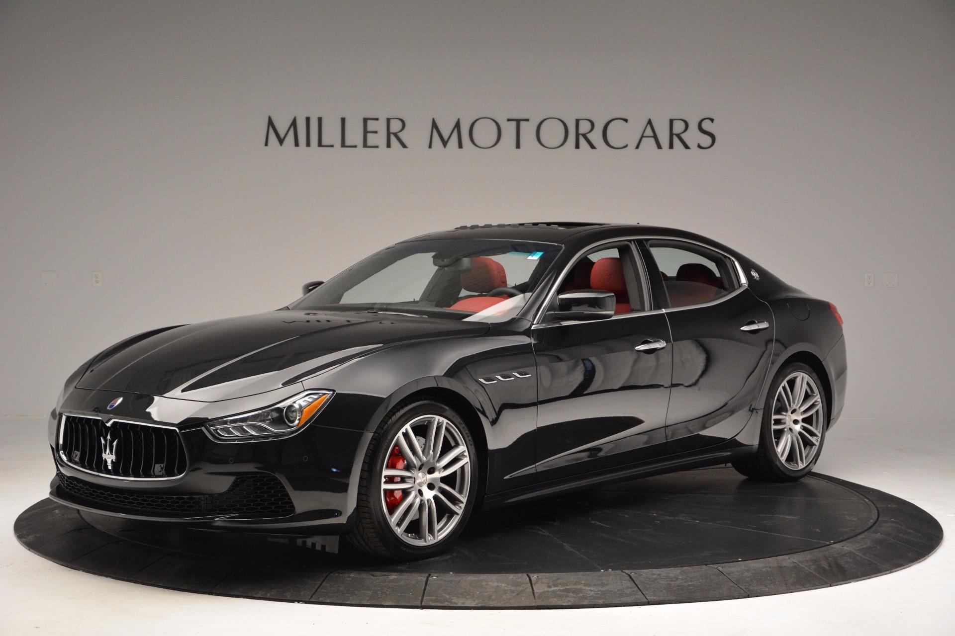 New 2017 Maserati Ghibli S Q4 For Sale In Greenwich, CT. Alfa Romeo of Greenwich, W425 1037_p2