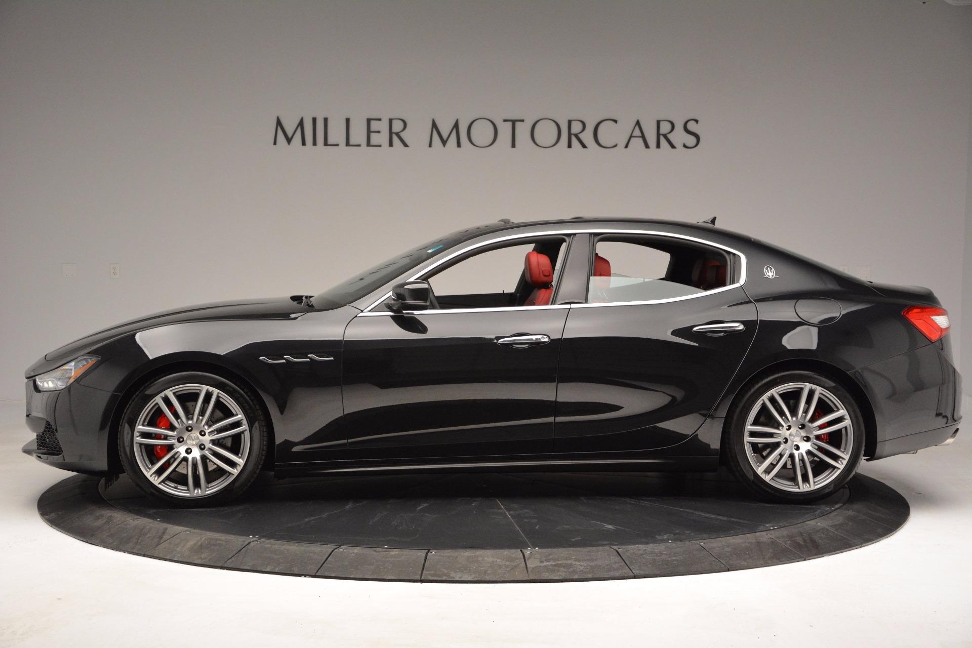 New 2017 Maserati Ghibli S Q4 For Sale In Greenwich, CT. Alfa Romeo of Greenwich, W425 1037_p4