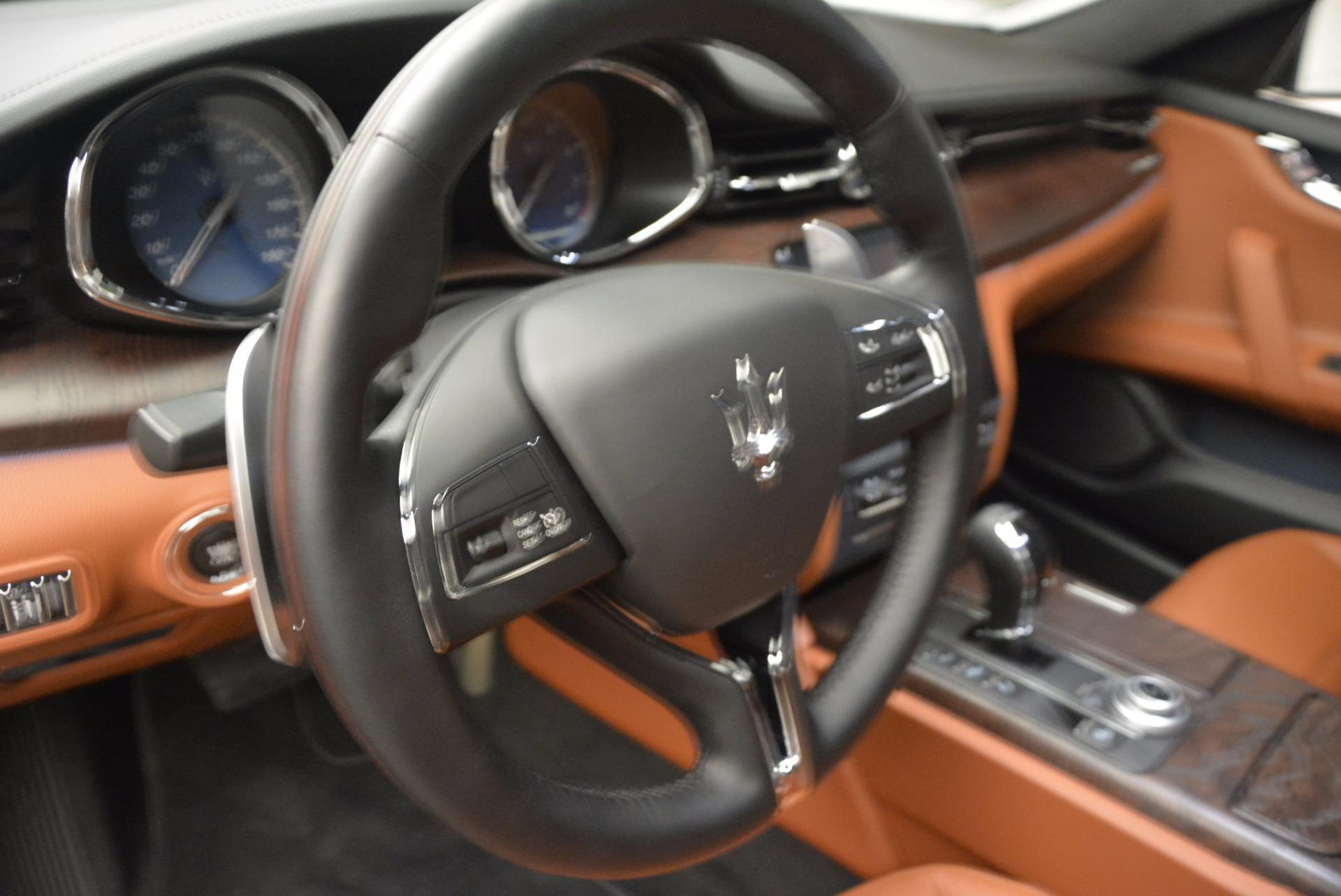 New 2017 Maserati Quattroporte S Q4 For Sale In Greenwich, CT. Alfa Romeo of Greenwich, M1824 1039_p16
