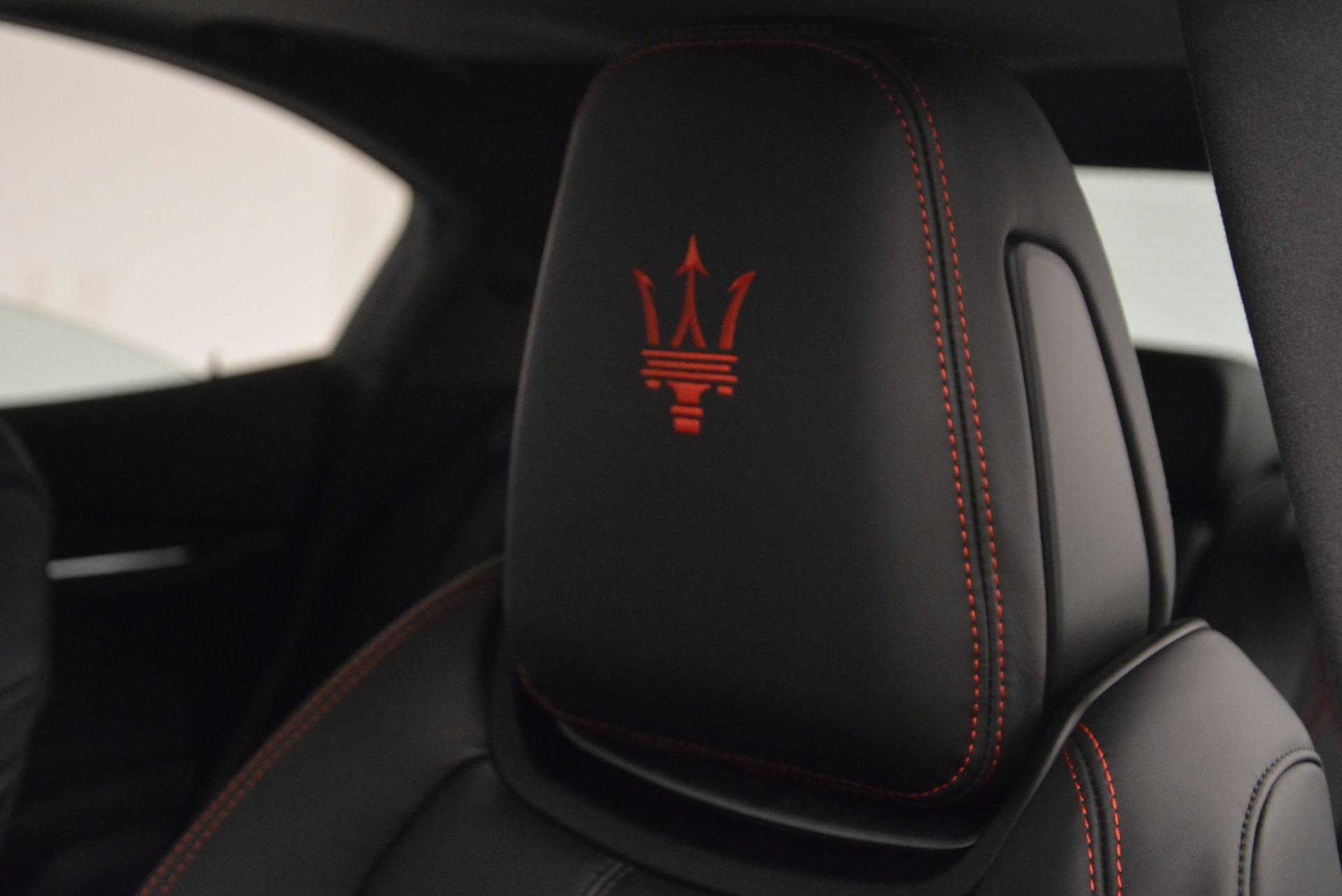 New 2017 Maserati Ghibli S Q4 For Sale In Greenwich, CT. Alfa Romeo of Greenwich, M1822 1041_p19