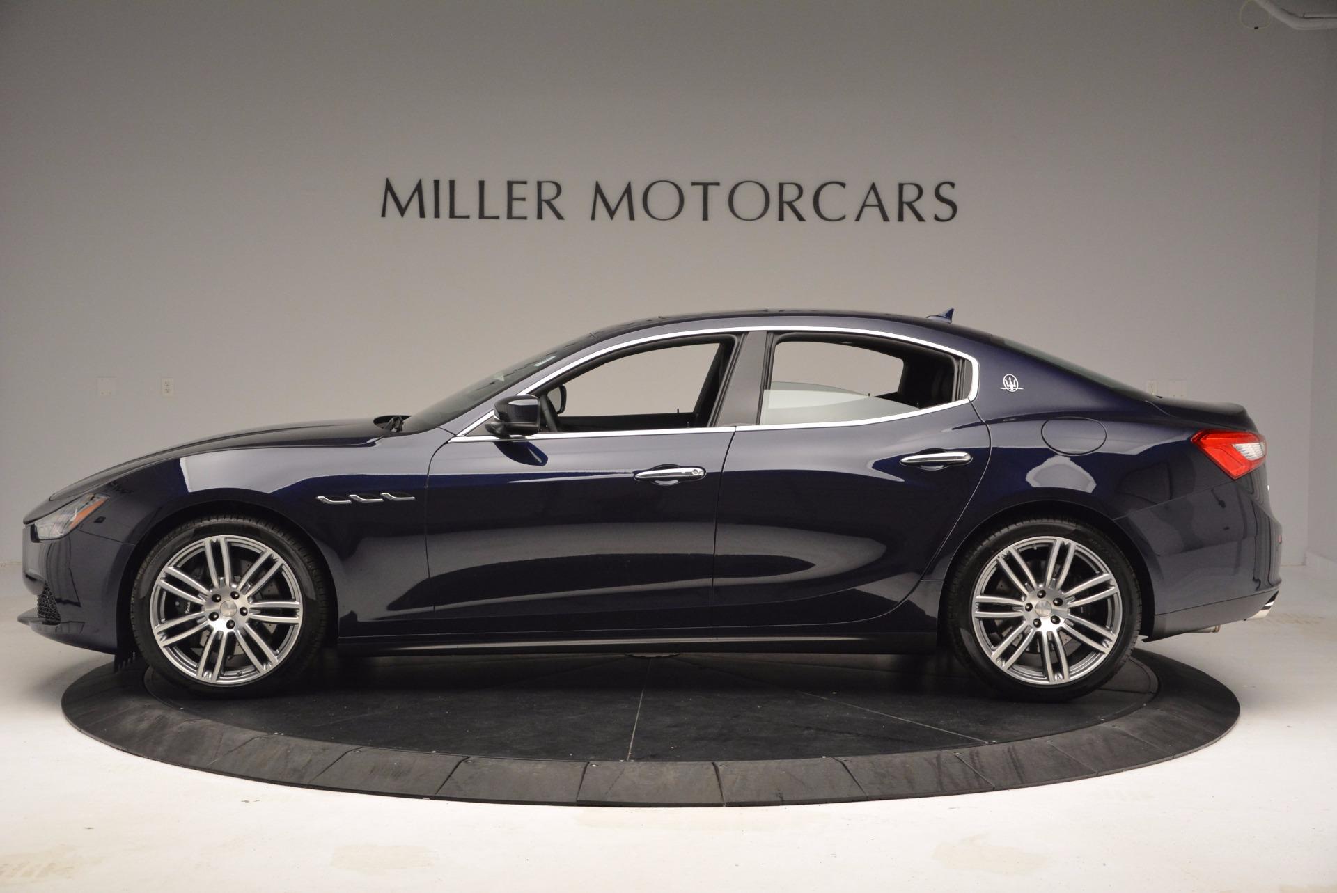 New 2017 Maserati Ghibli S Q4 For Sale In Greenwich, CT. Alfa Romeo of Greenwich, M1822 1041_p3