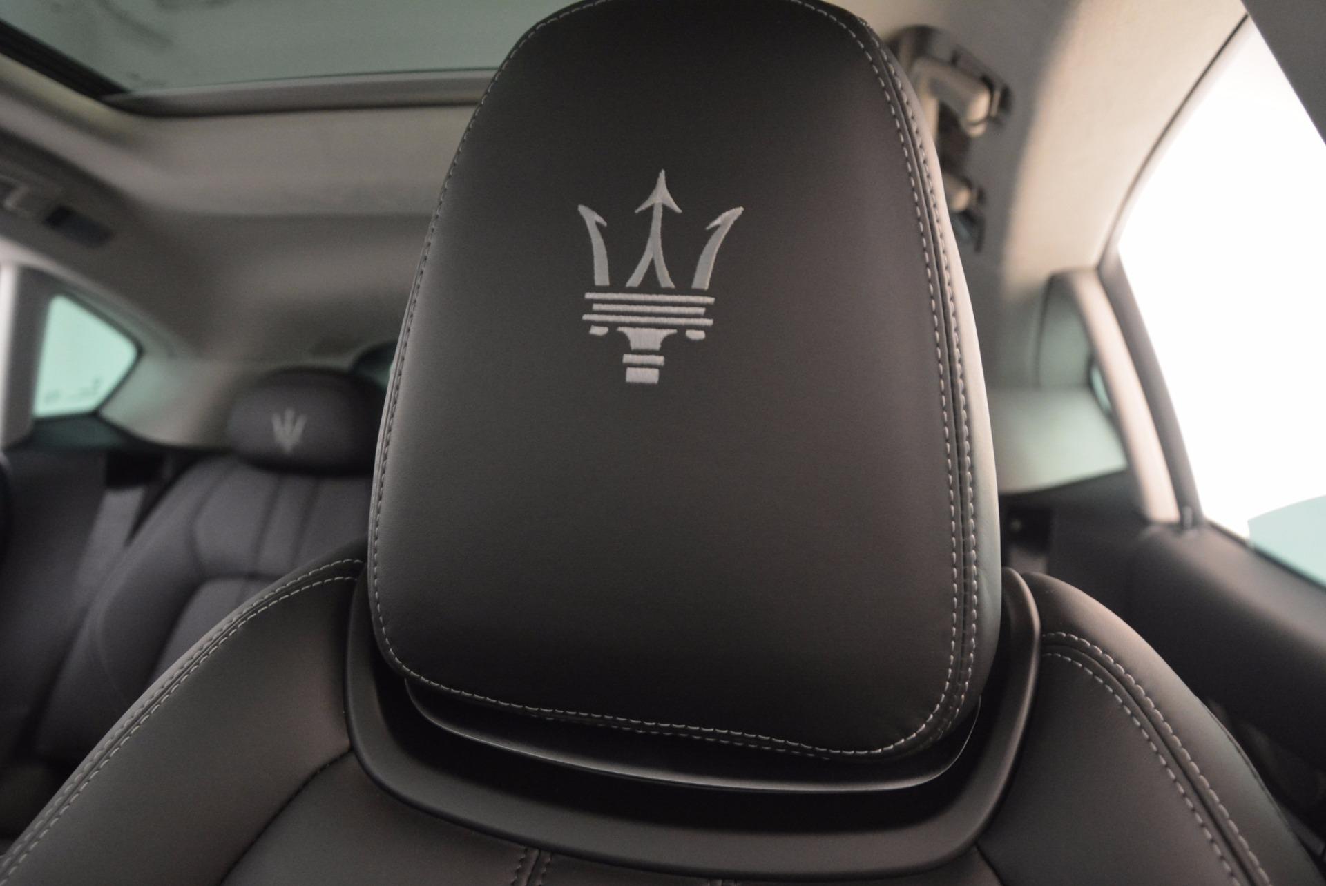 Used 2017 Maserati Levante  For Sale In Greenwich, CT. Alfa Romeo of Greenwich, 7490A 1046_p17