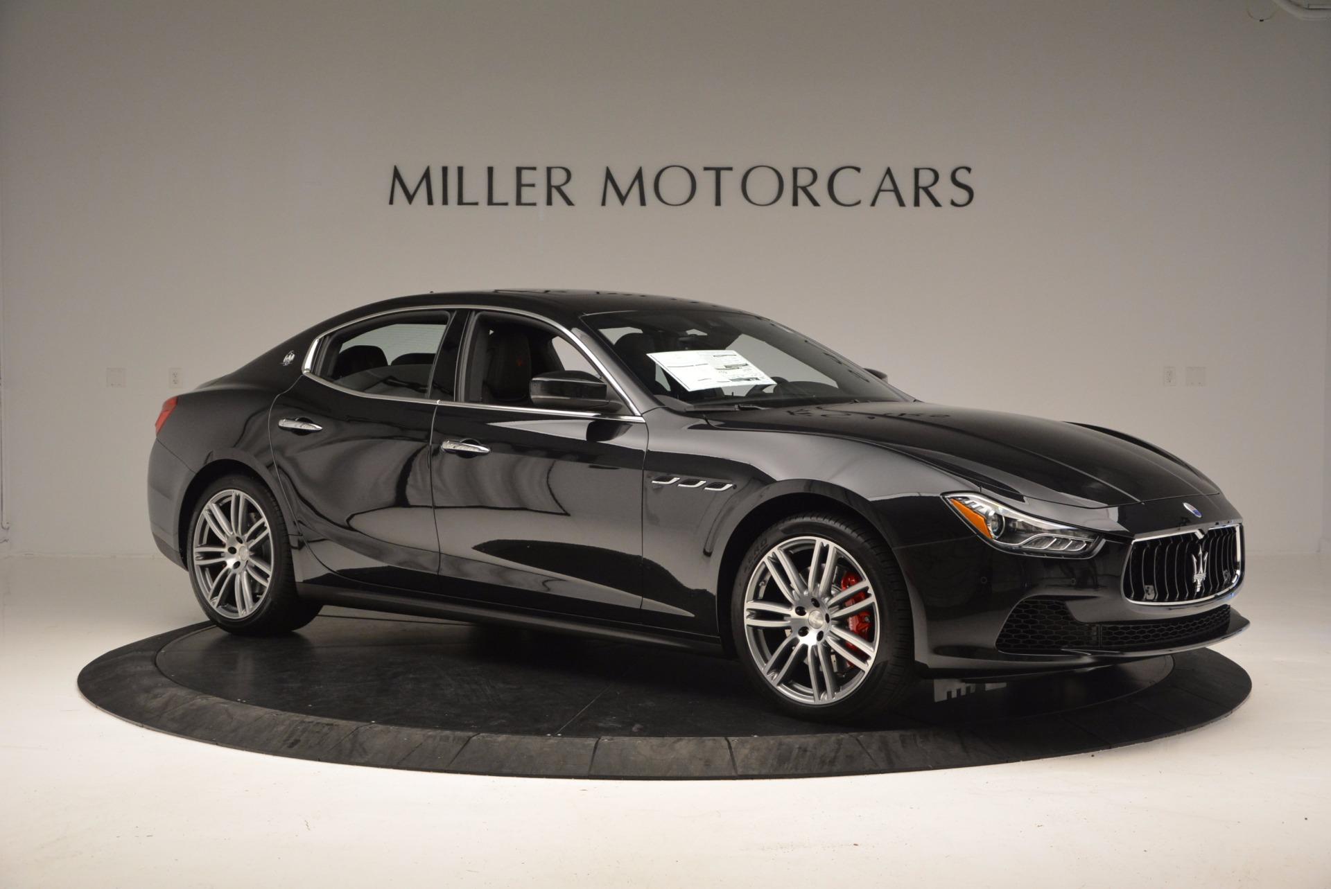 New 2017 Maserati Ghibli S Q4 For Sale In Greenwich, CT. Alfa Romeo of Greenwich, M1827 1048_p9