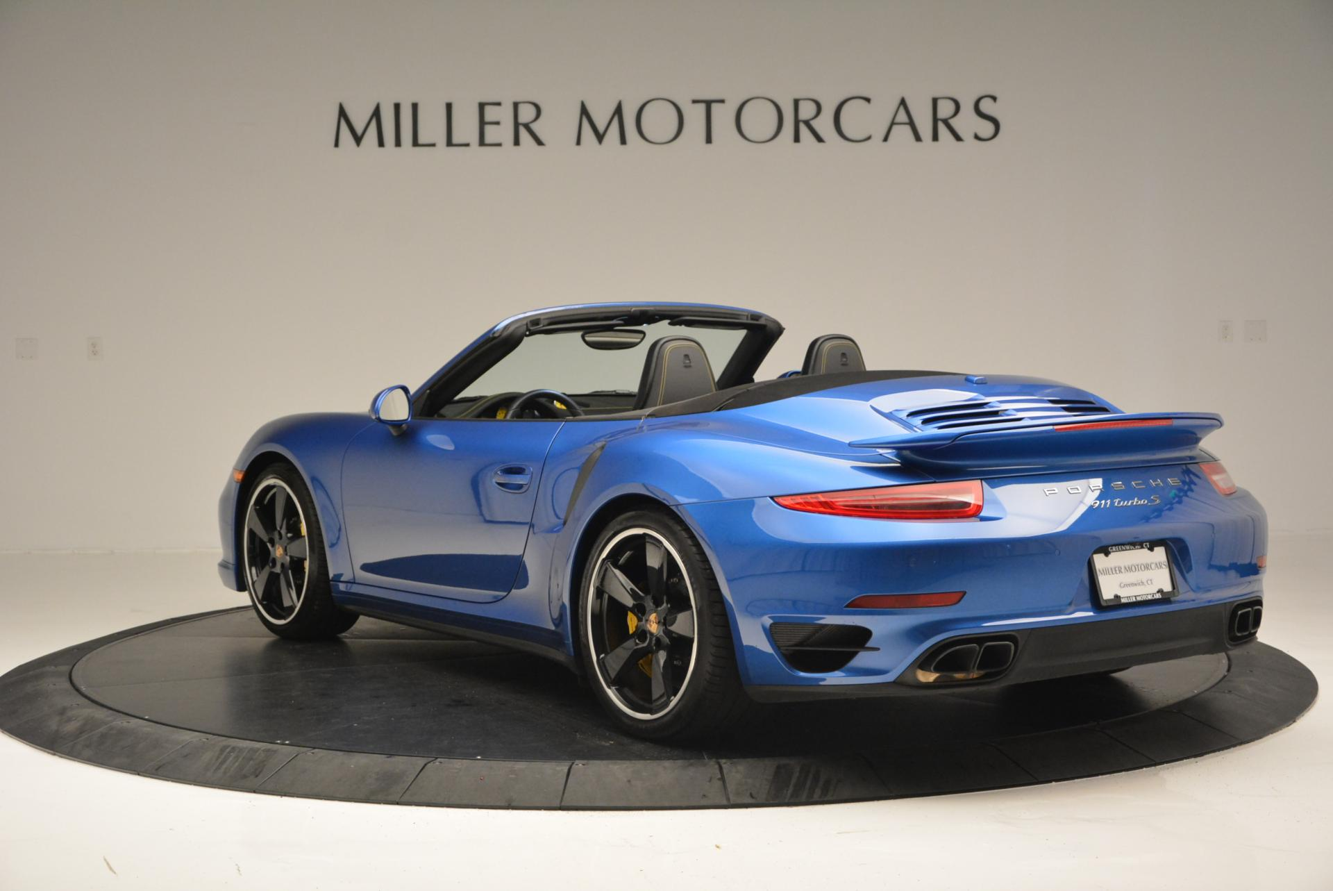 Used 2014 Porsche 911 Turbo S For Sale In Greenwich, CT. Alfa Romeo of Greenwich, 7030 105_p5
