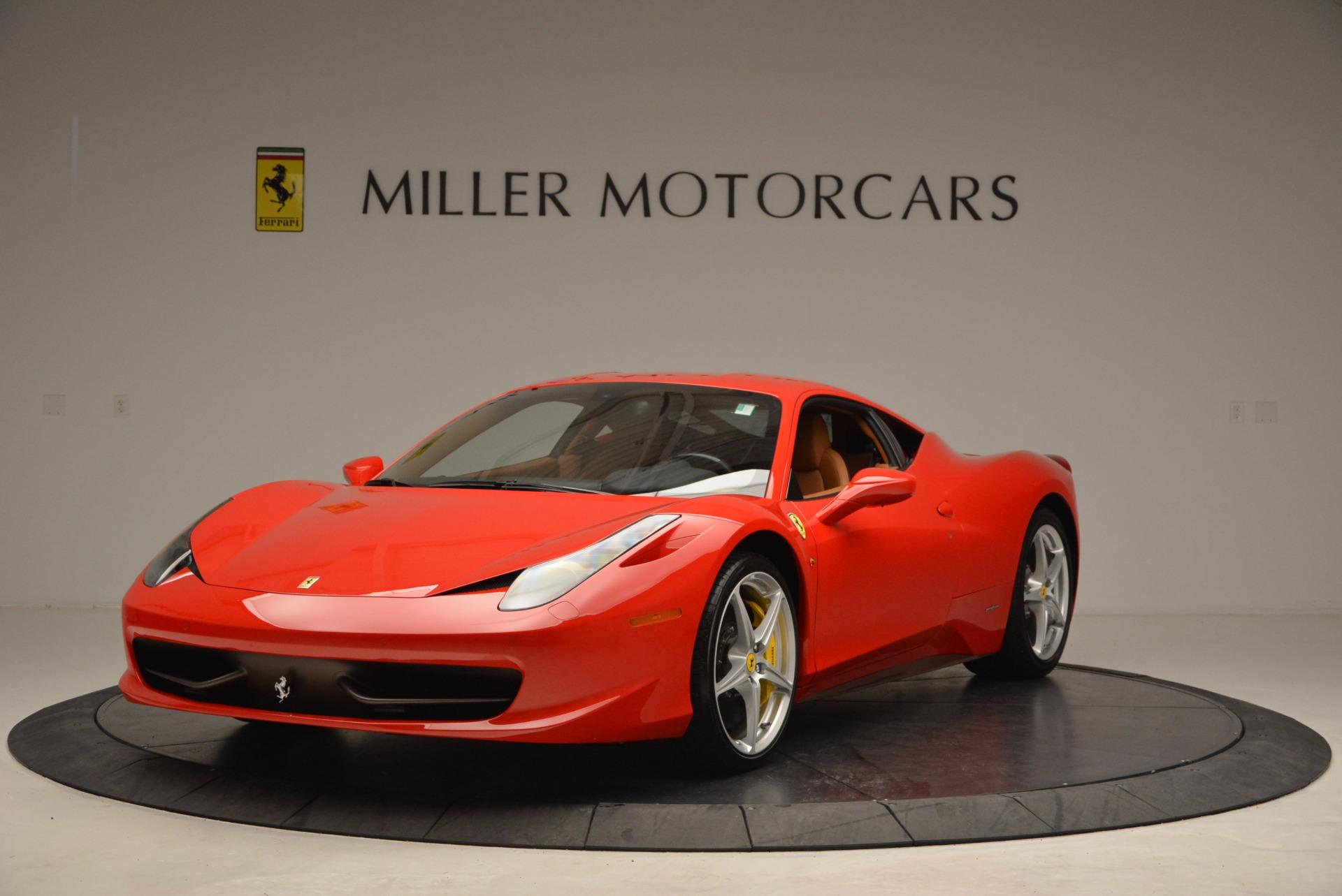 Used 2011 Ferrari 458 Italia  For Sale In Greenwich, CT. Alfa Romeo of Greenwich, F1766A 1054_main