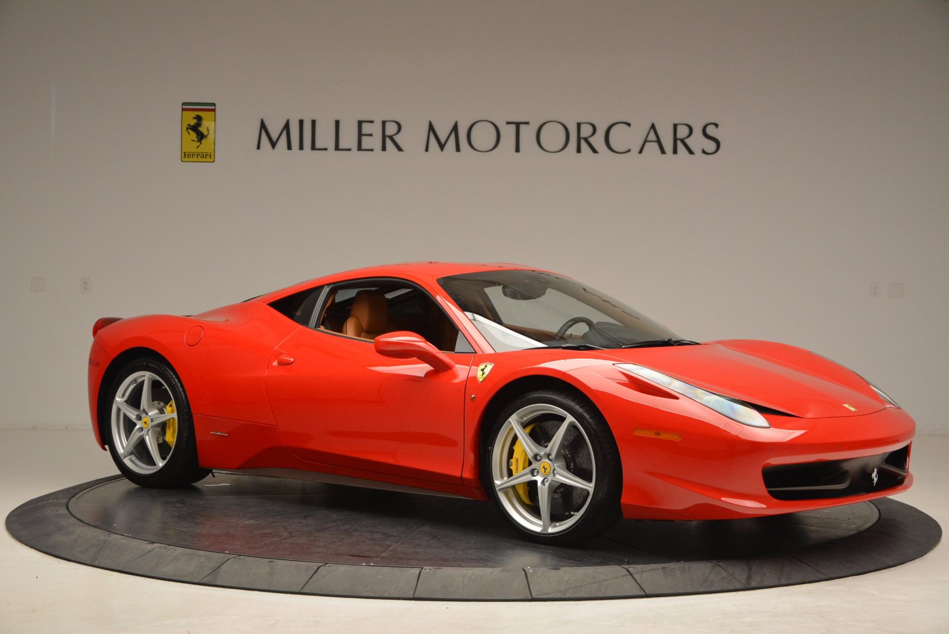 Used 2011 Ferrari 458 Italia  For Sale In Greenwich, CT. Alfa Romeo of Greenwich, F1766A 1054_p10