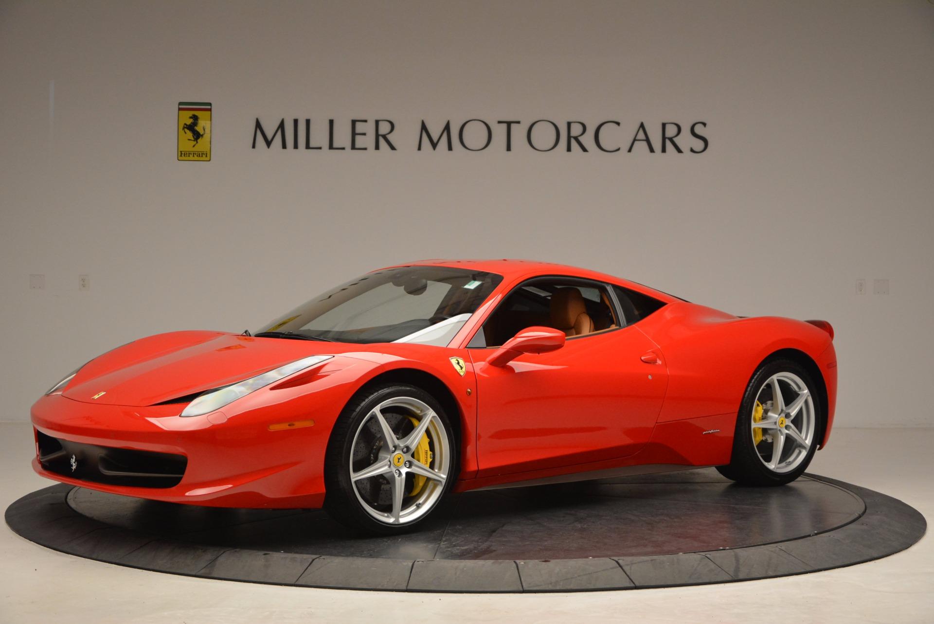 Used 2011 Ferrari 458 Italia  For Sale In Greenwich, CT. Alfa Romeo of Greenwich, F1766A 1054_p2