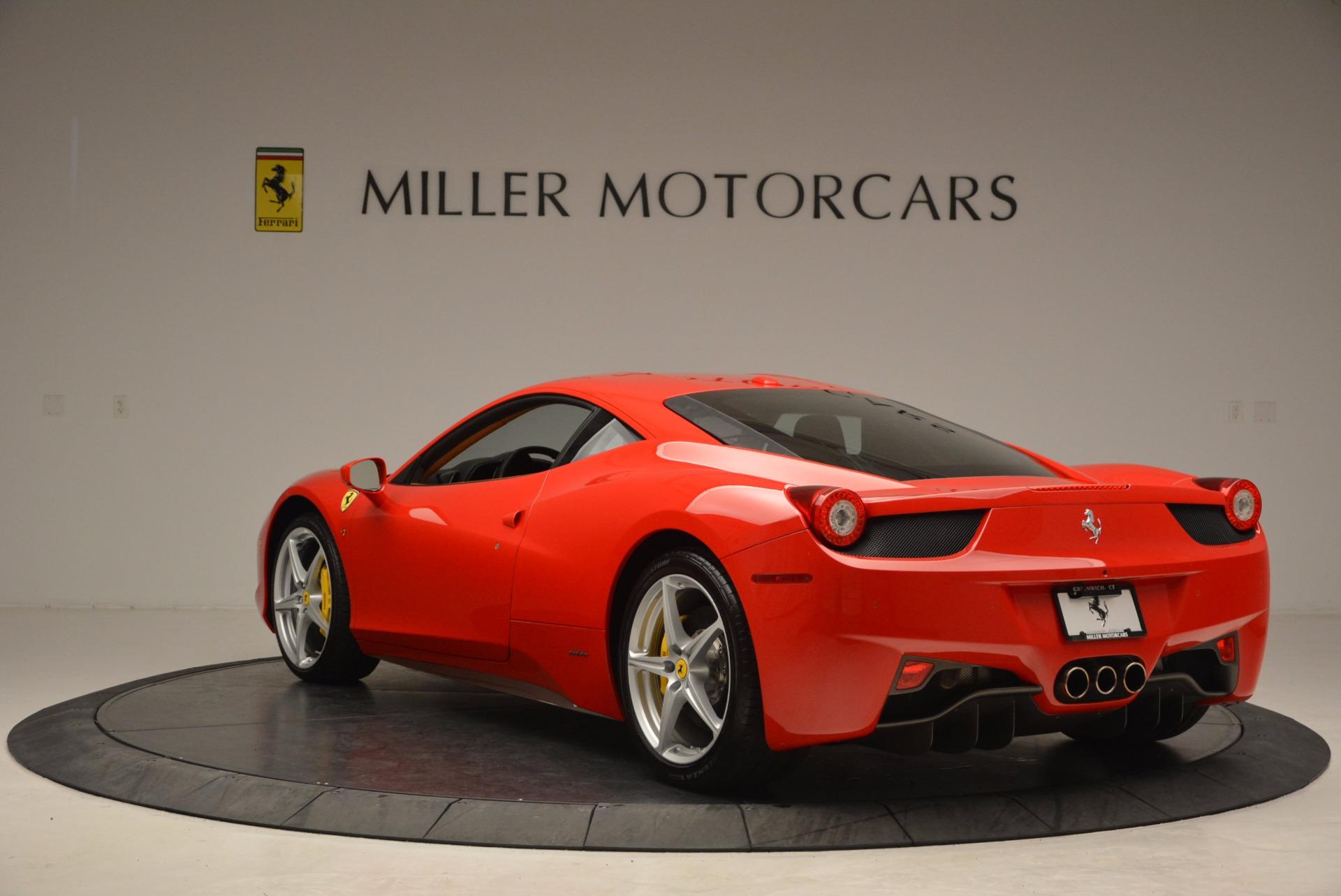 Used 2011 Ferrari 458 Italia  For Sale In Greenwich, CT. Alfa Romeo of Greenwich, F1766A 1054_p5