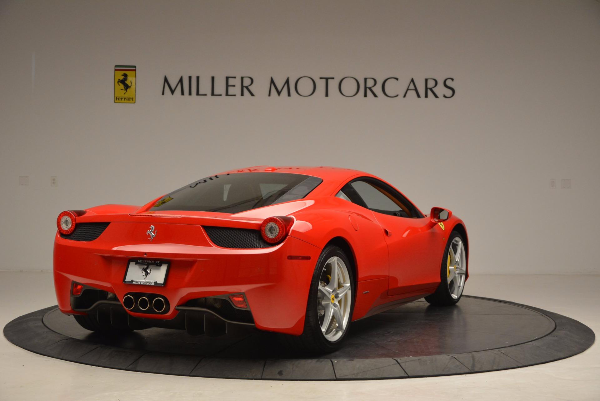 Used 2011 Ferrari 458 Italia  For Sale In Greenwich, CT. Alfa Romeo of Greenwich, F1766A 1054_p7