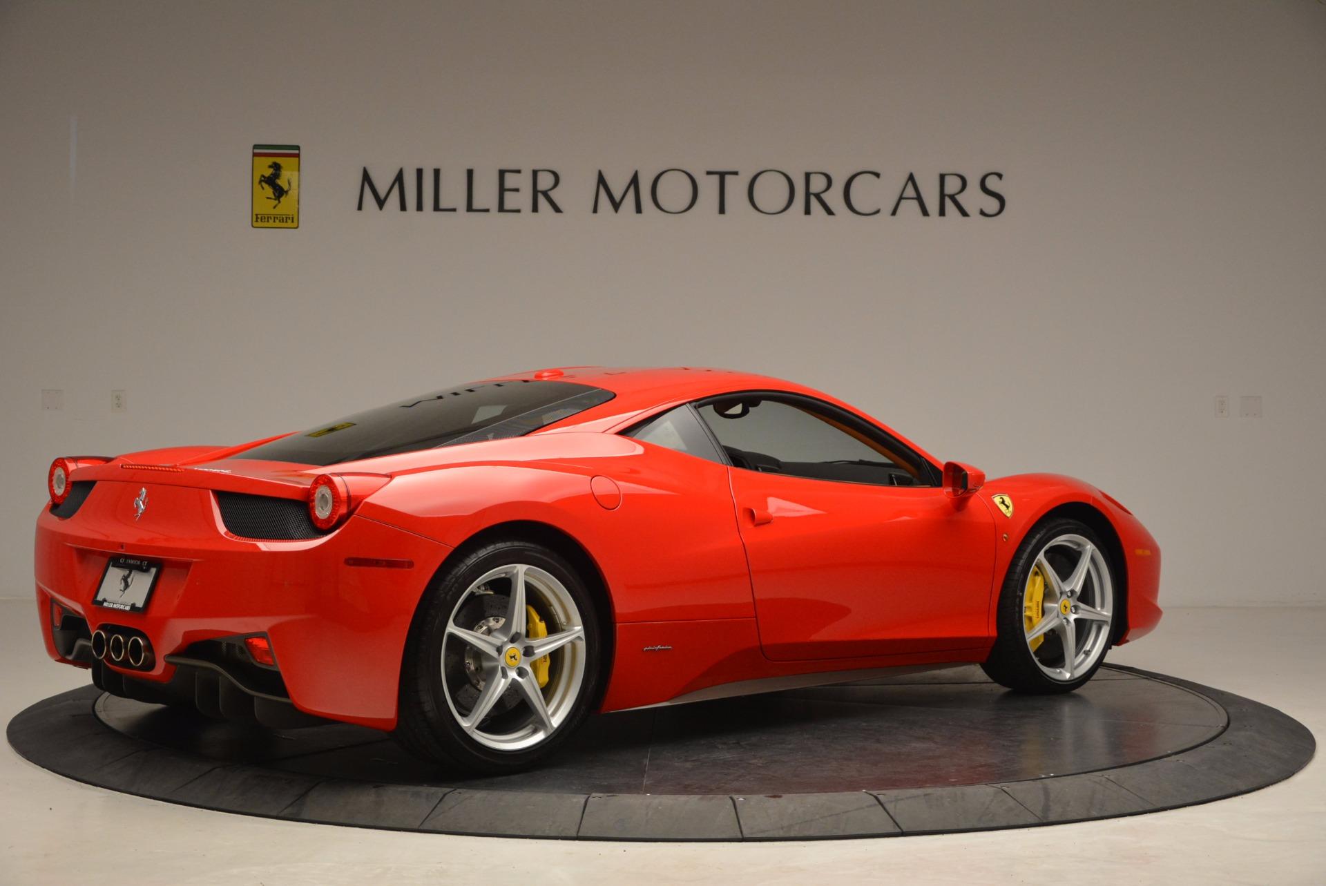 Used 2011 Ferrari 458 Italia  For Sale In Greenwich, CT. Alfa Romeo of Greenwich, F1766A 1054_p8