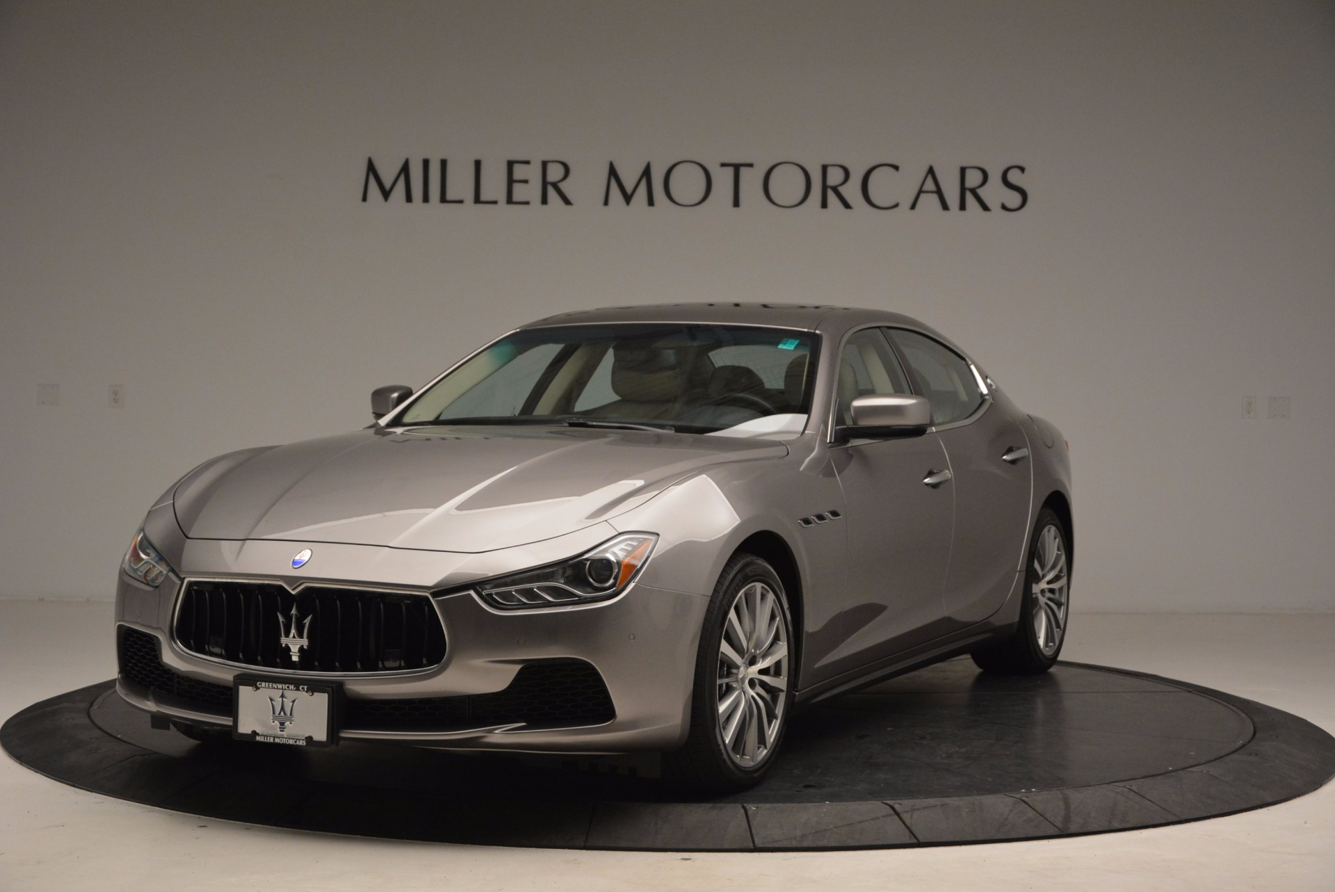 Used 2015 Maserati Ghibli S Q4 For Sale In Greenwich, CT. Alfa Romeo of Greenwich, M1766A 1059_main