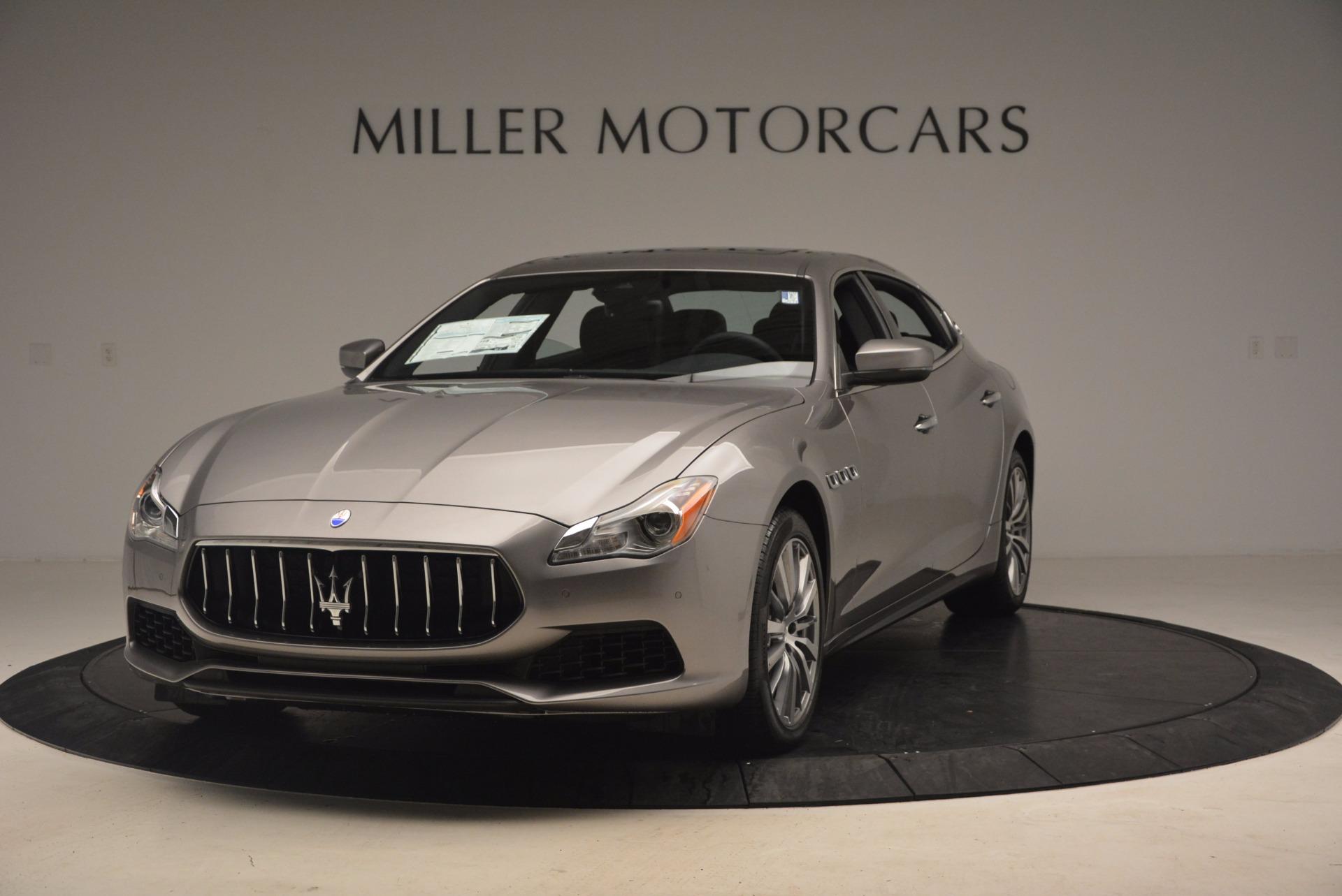 New 2017 Maserati Quattroporte SQ4 For Sale In Greenwich, CT. Alfa Romeo of Greenwich, W433 1066_main
