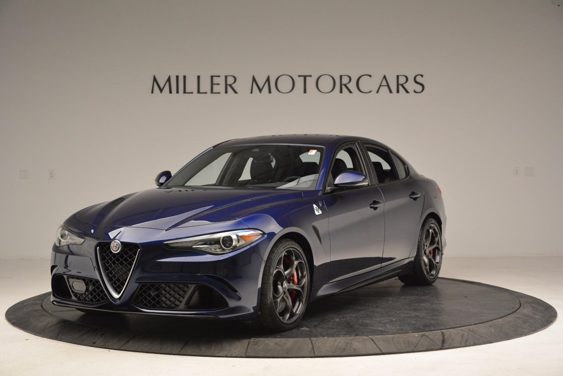 New 2017 Alfa Romeo Giulia Quadrifoglio For Sale In Greenwich, CT. Alfa Romeo of Greenwich, F1797A 1073_main